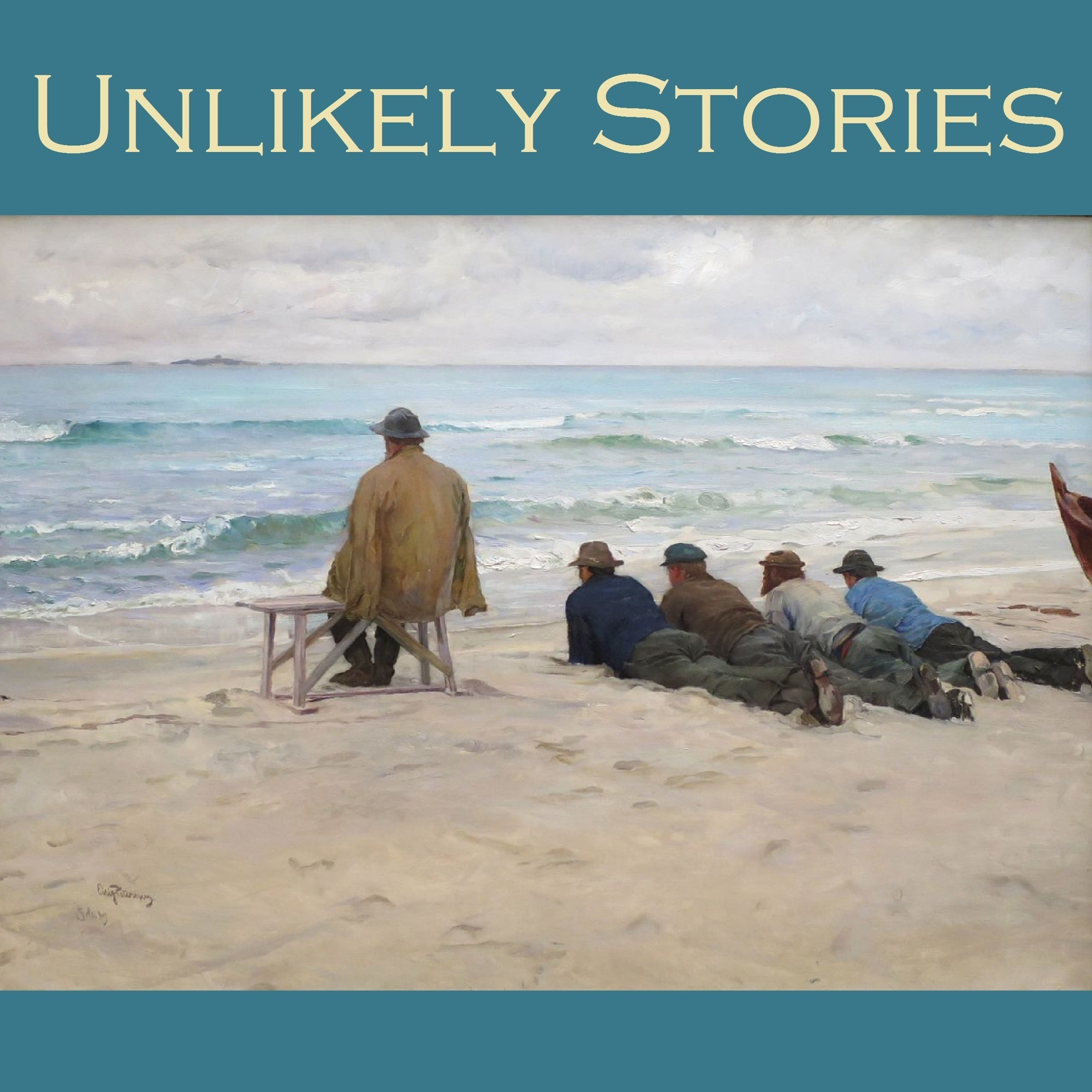 Printable Unlikely Stories: 44 Tales of the Weird and Fantastical Audiobook Cover Art