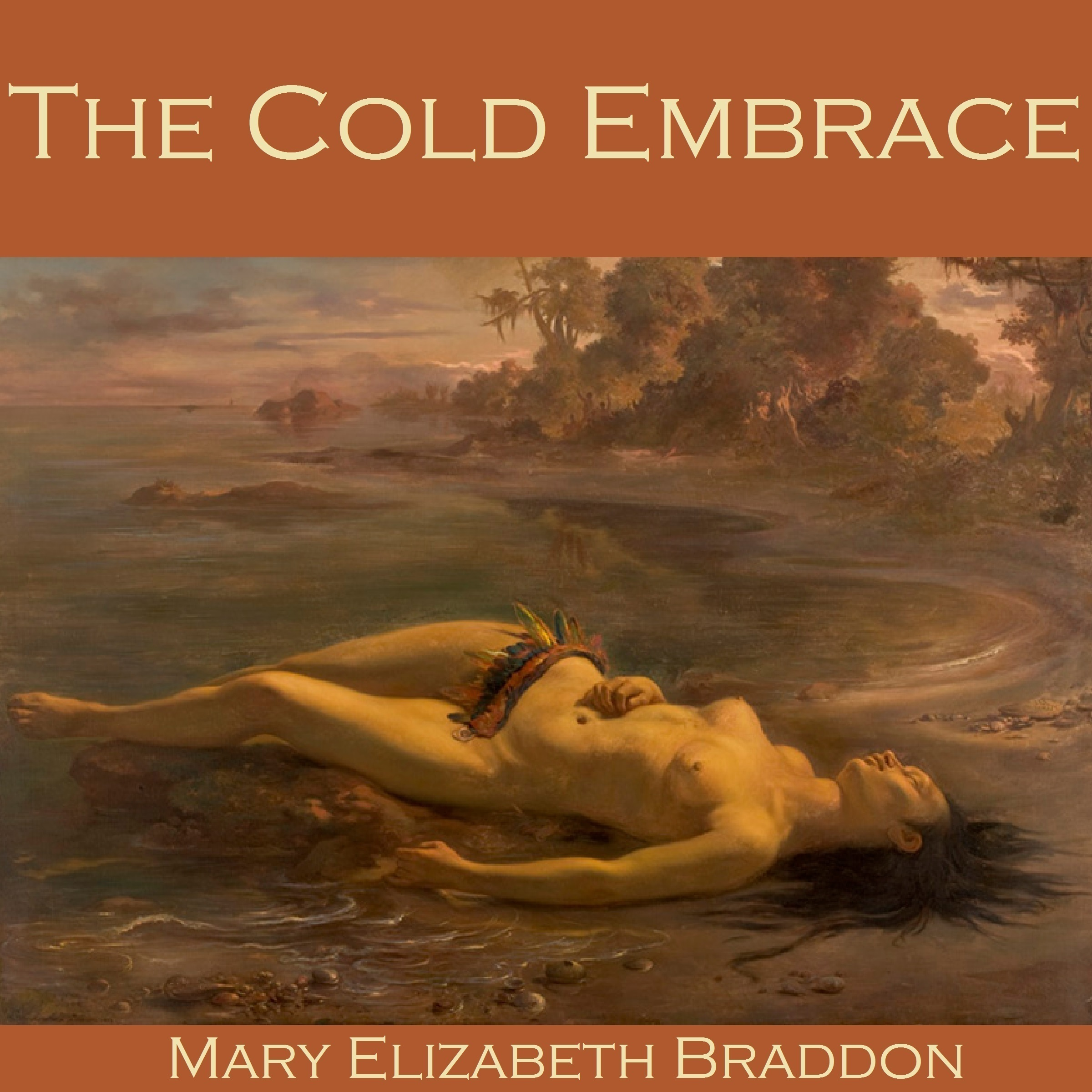 Printable The Cold Embrace Audiobook Cover Art
