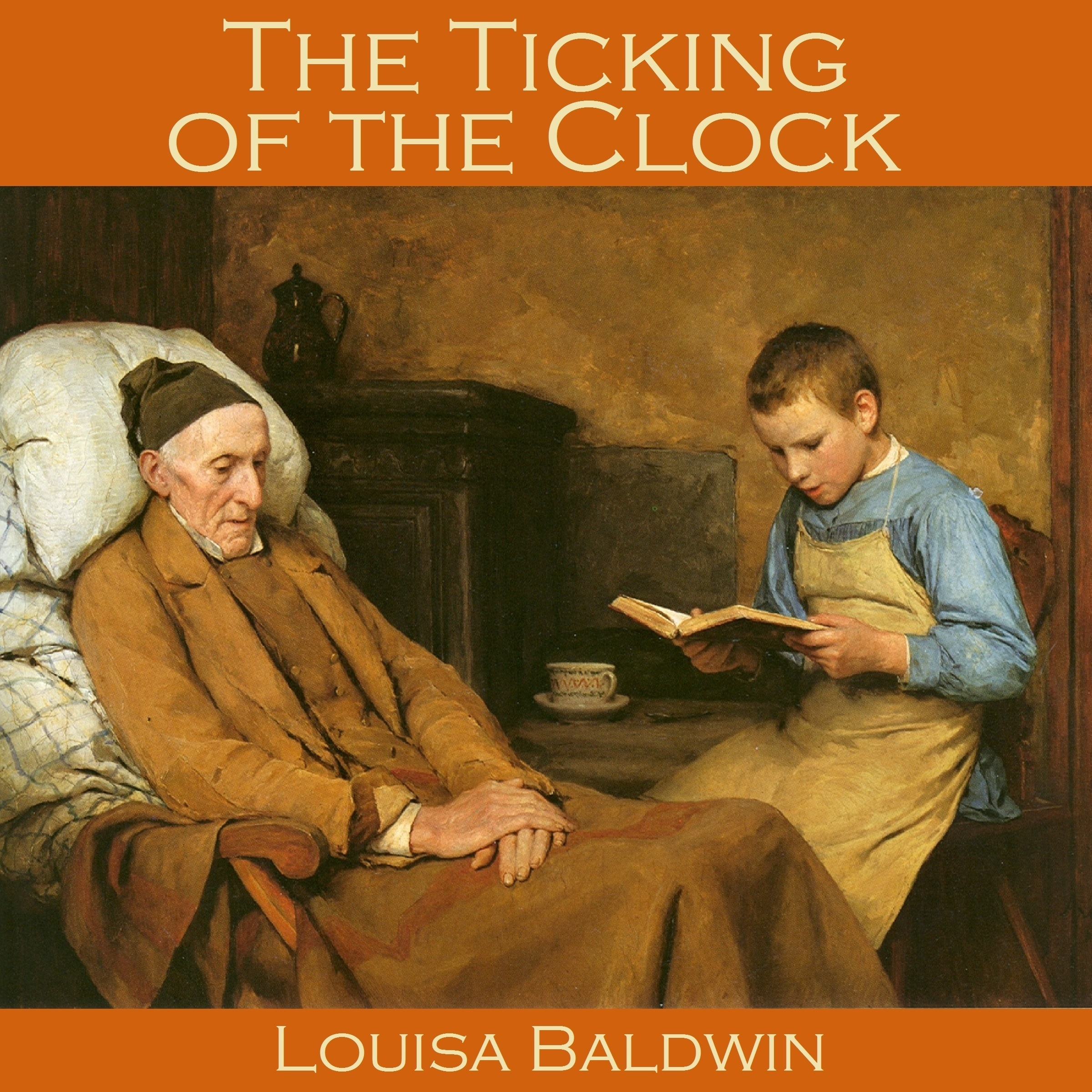 Printable The Ticking of the Clock Audiobook Cover Art
