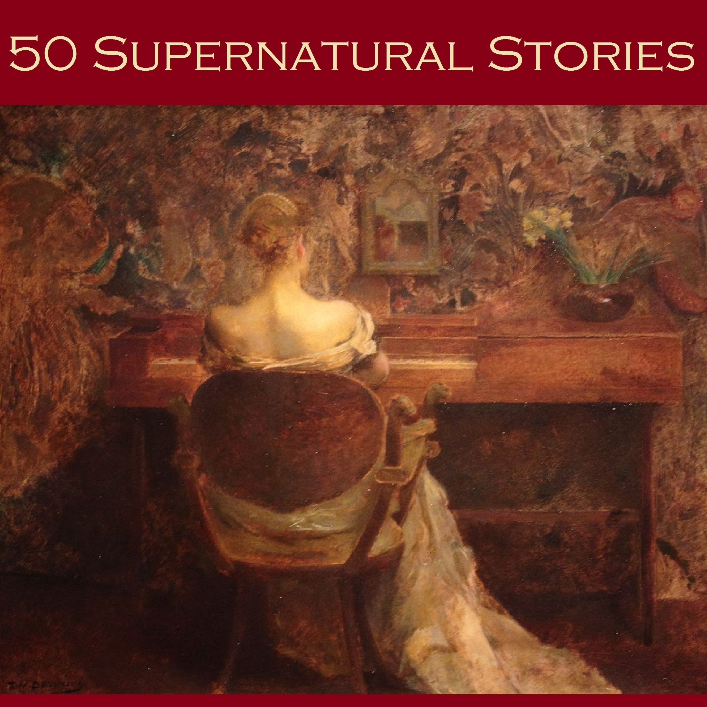 Printable Fifty Supernatural Stories Audiobook Cover Art