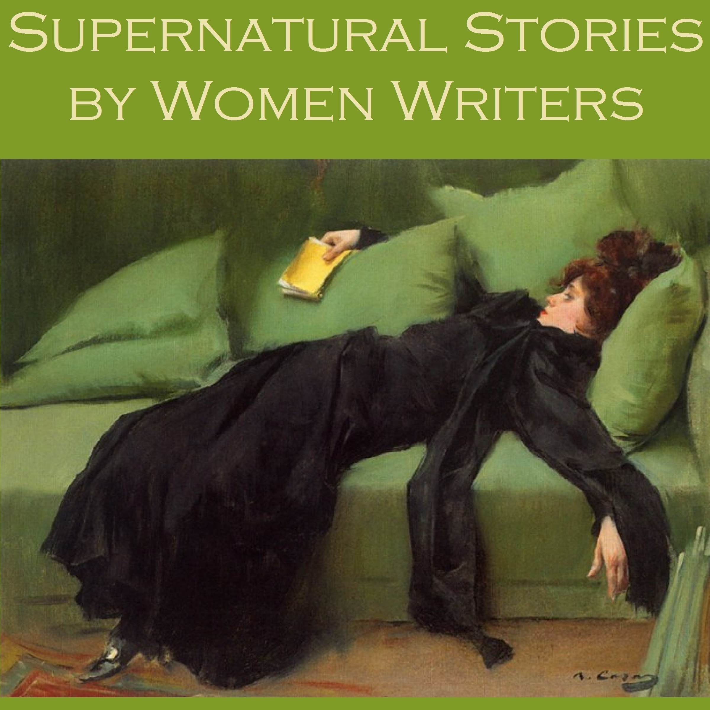 Printable Supernatural Stories by Women Writers Audiobook Cover Art