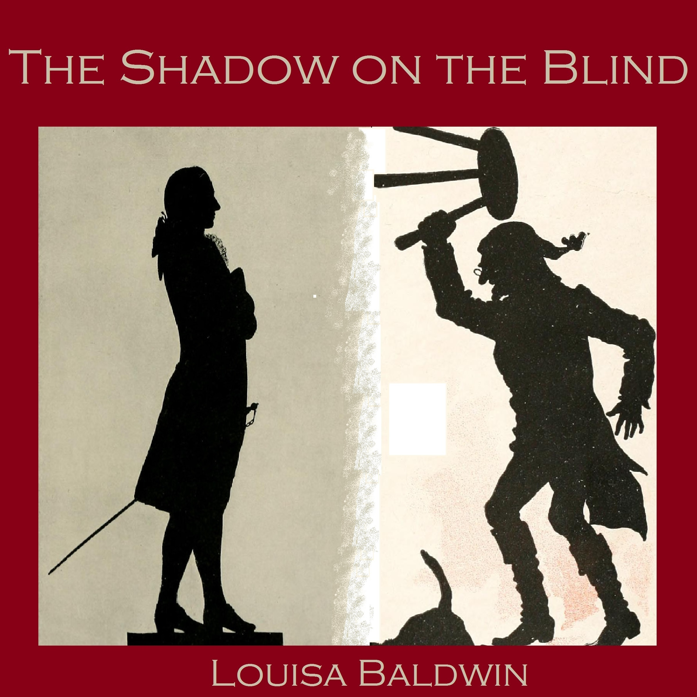 Printable The Shadow on the Blind Audiobook Cover Art