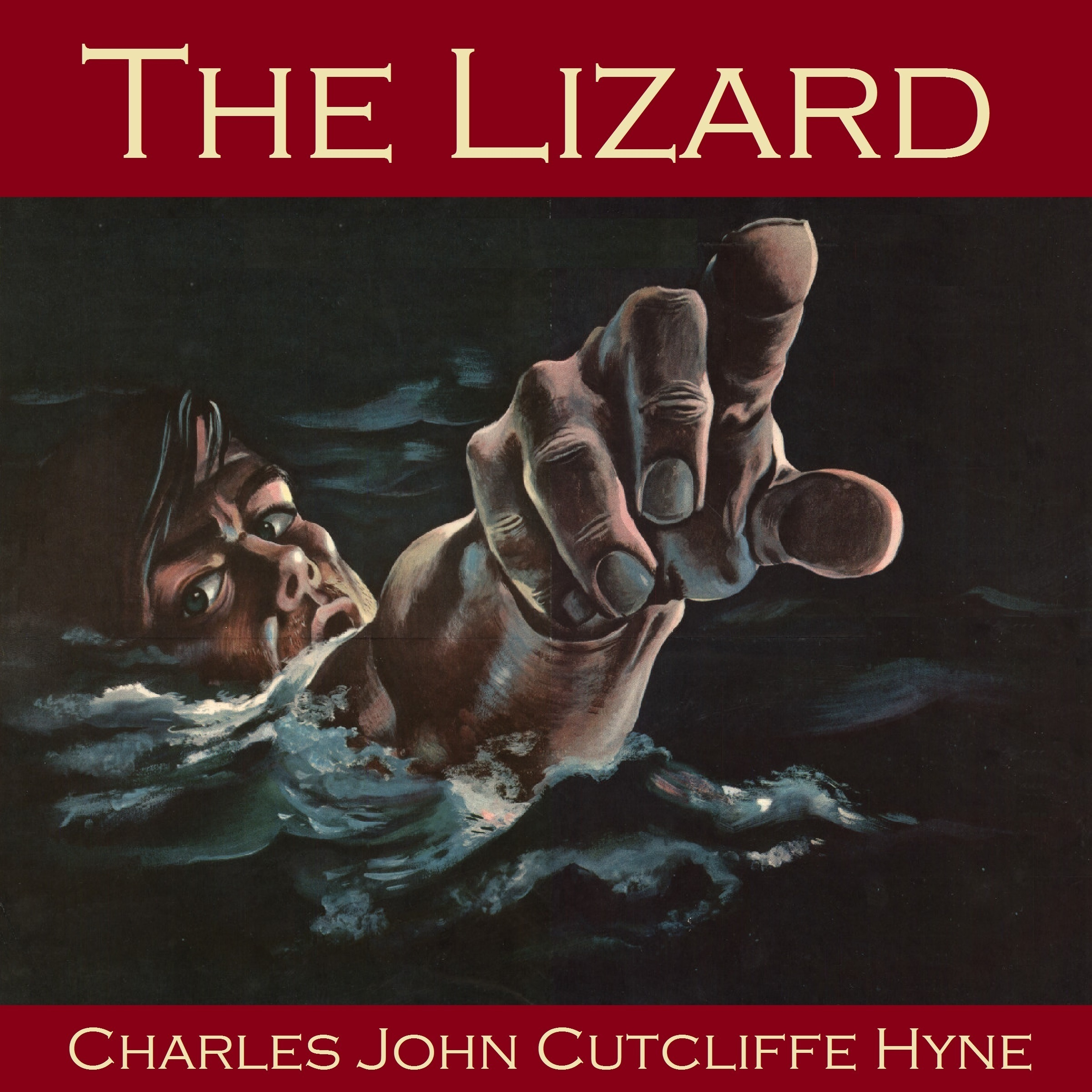 Printable The Lizard Audiobook Cover Art