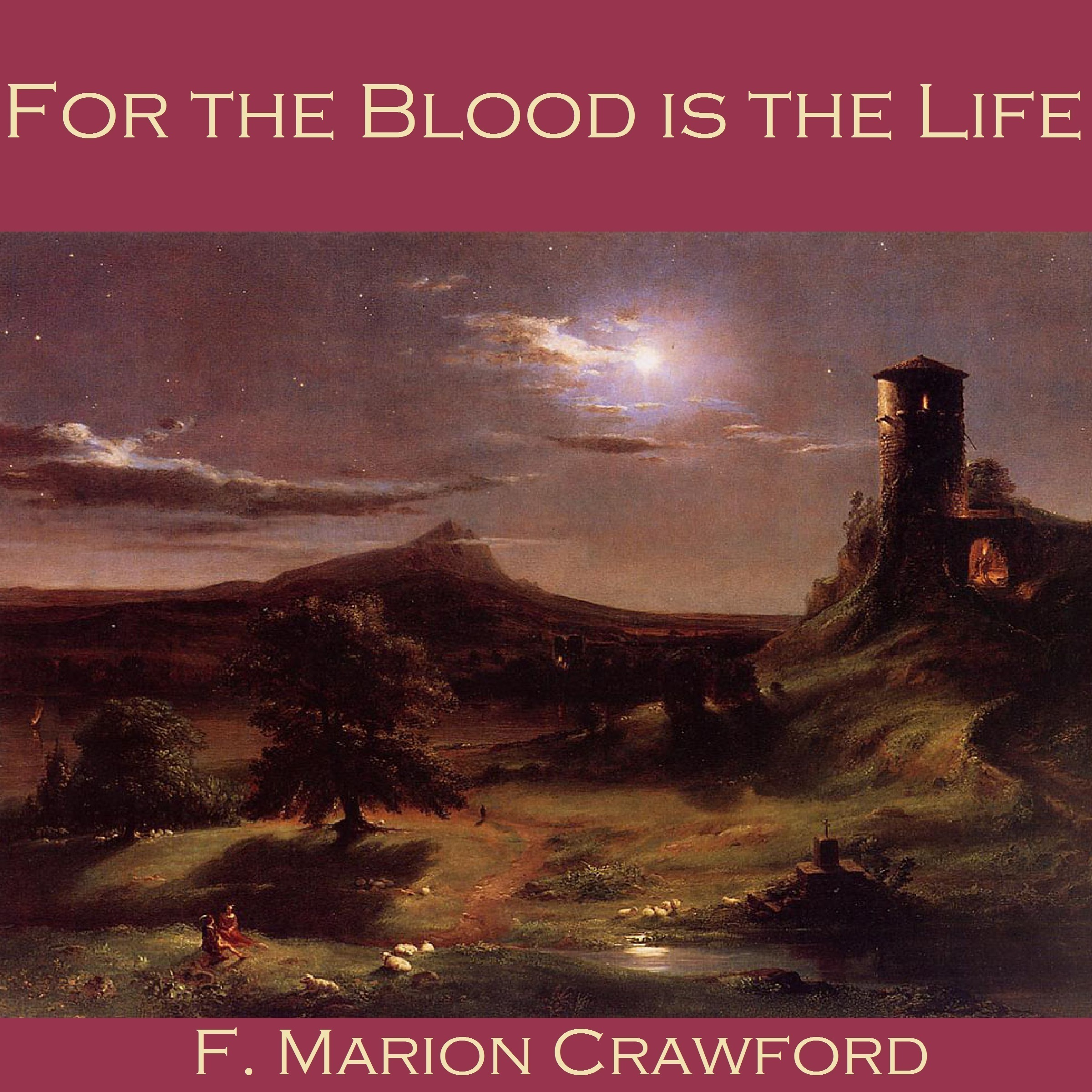 Printable For the Blood is the Life Audiobook Cover Art