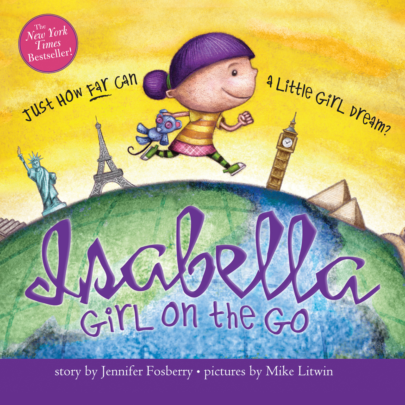 Printable Isabella: Girl on the Go Audiobook Cover Art