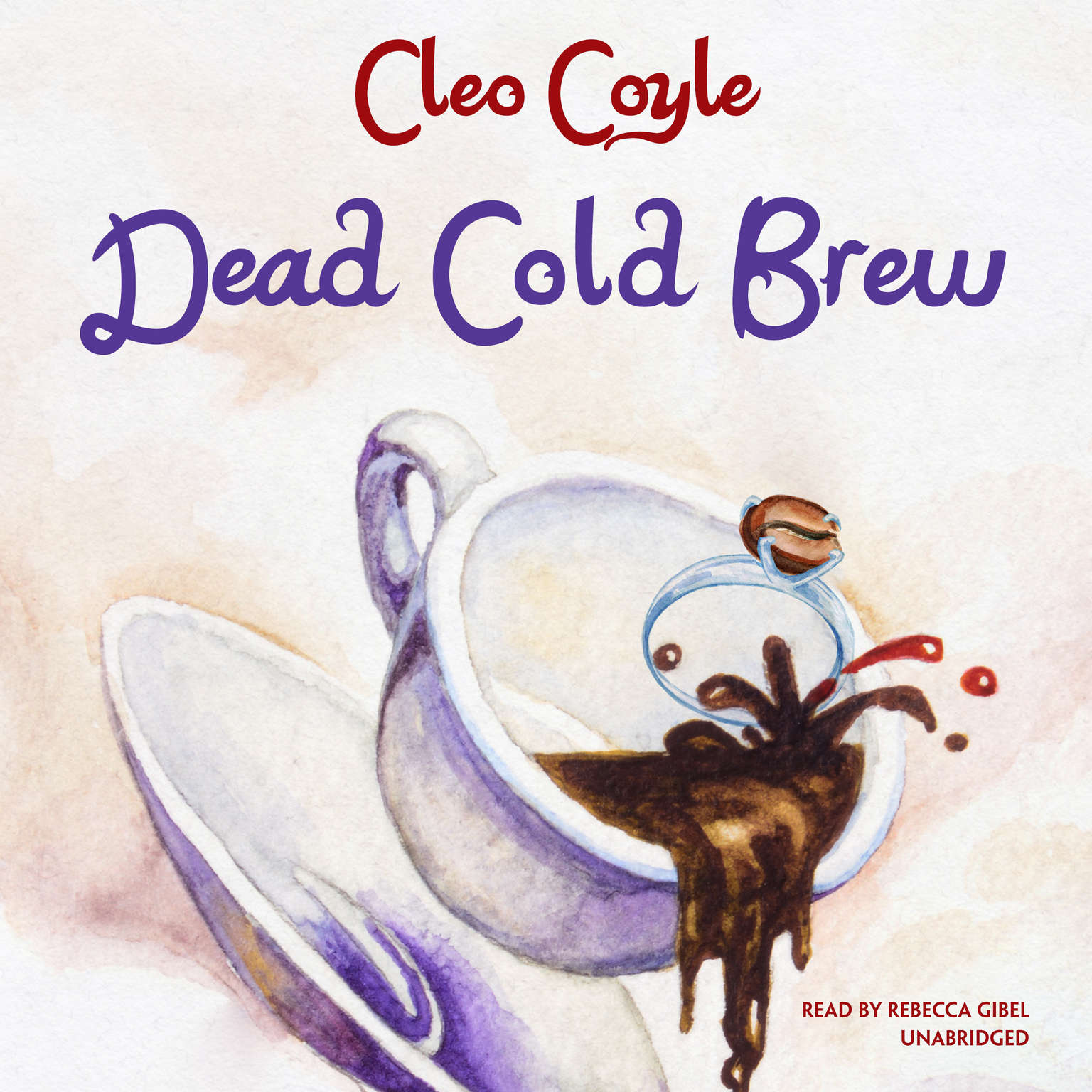 Printable Dead Cold Brew Audiobook Cover Art