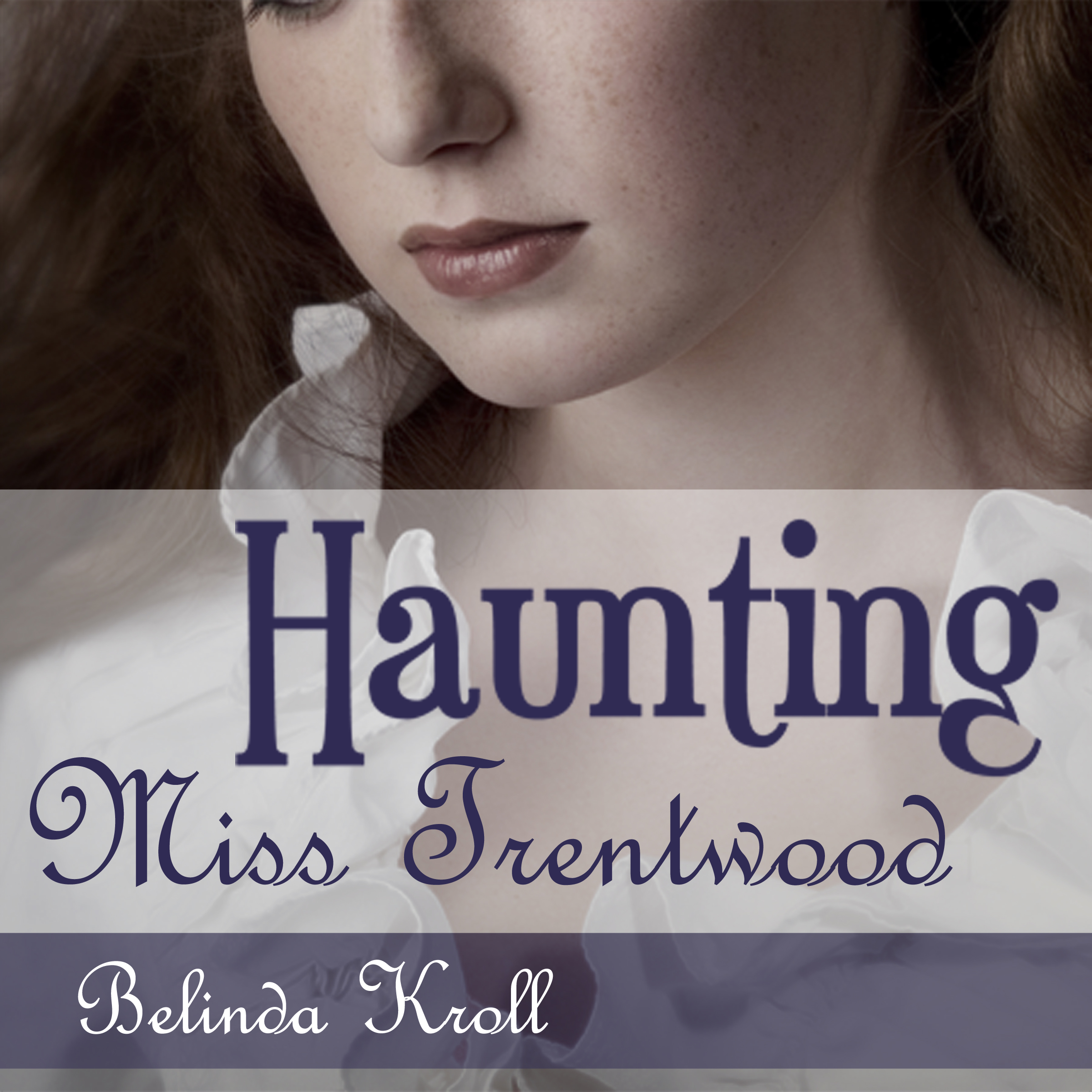 Printable Haunting Miss Trentwood Audiobook Cover Art