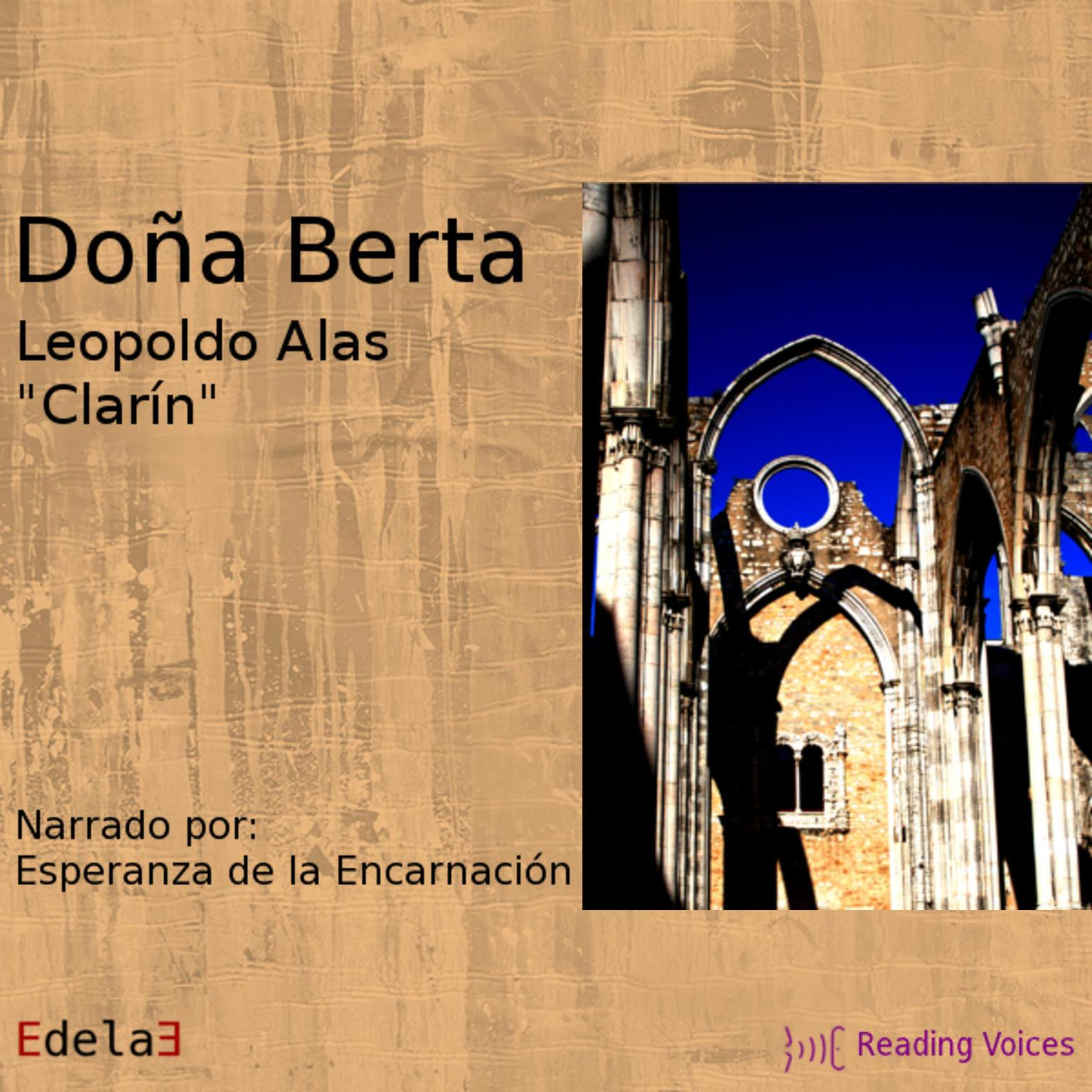Printable Doña Berta Audiobook Cover Art