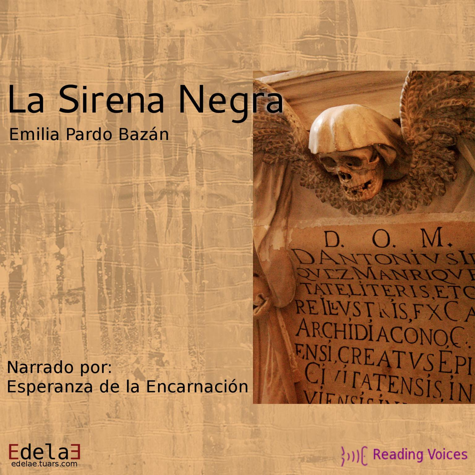 Printable La sirena negra Audiobook Cover Art