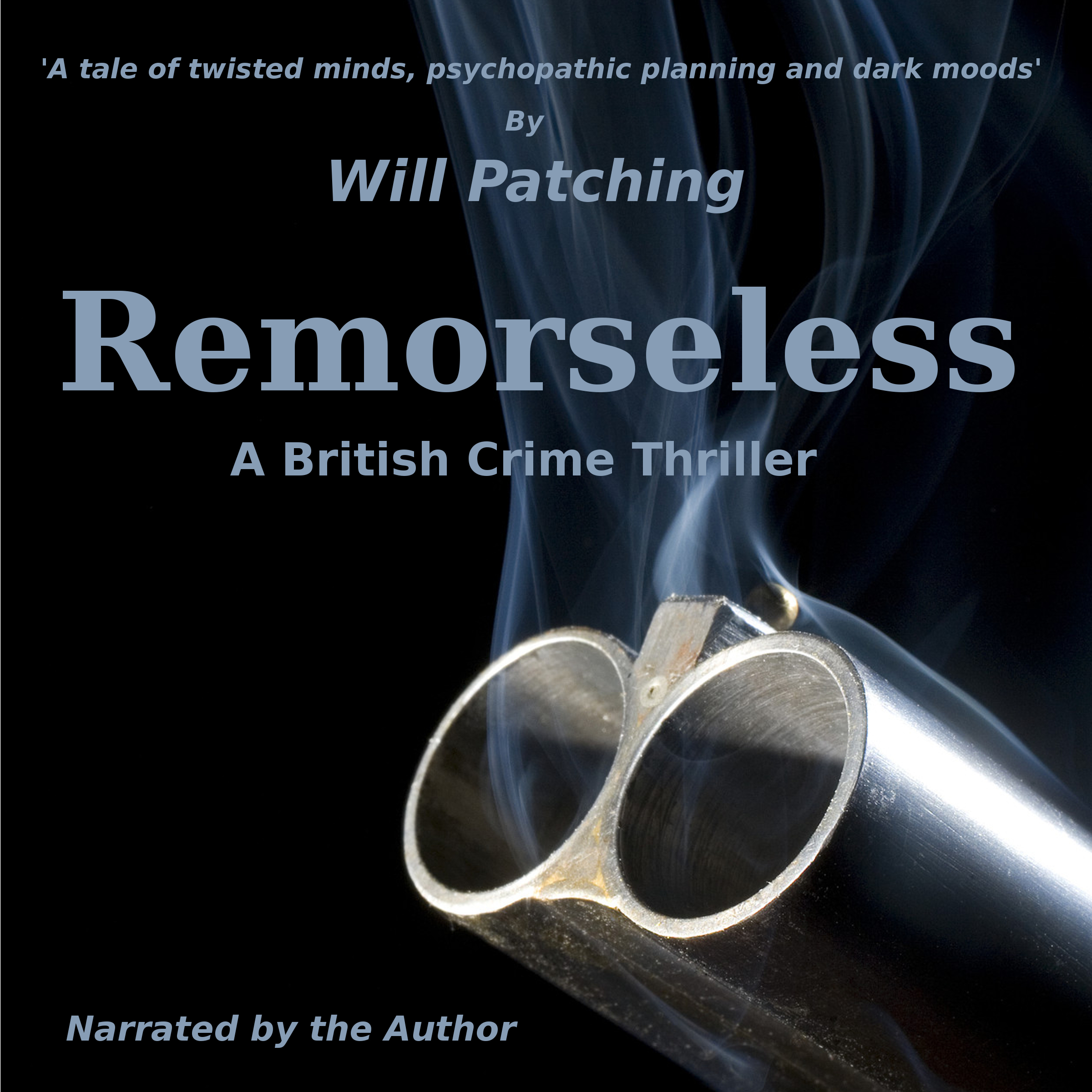 Printable Remorseless:  A British Crime Thriller Audiobook Cover Art