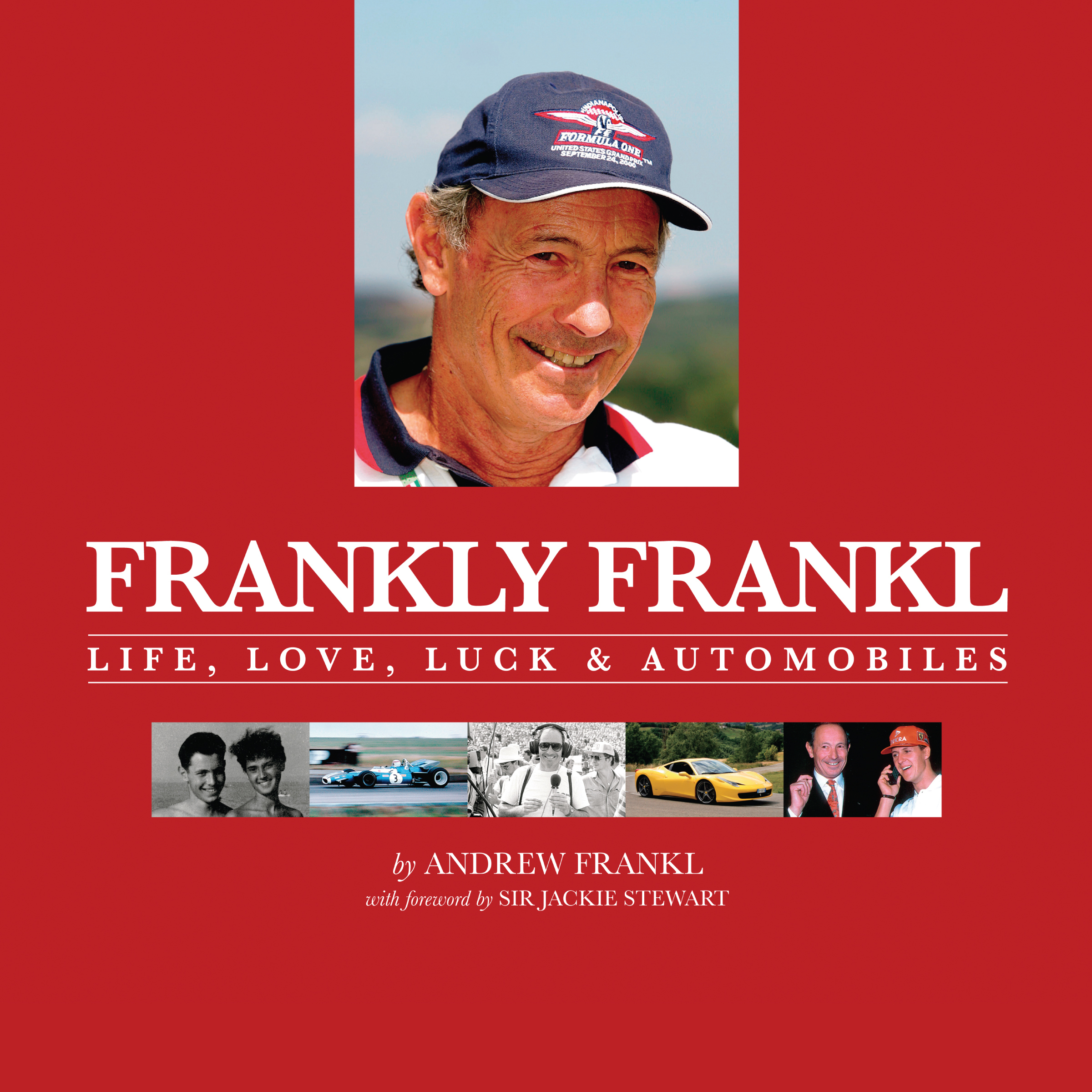 Printable Frankly Frankl: Life, Love, Luck & Automobiles Audiobook Cover Art
