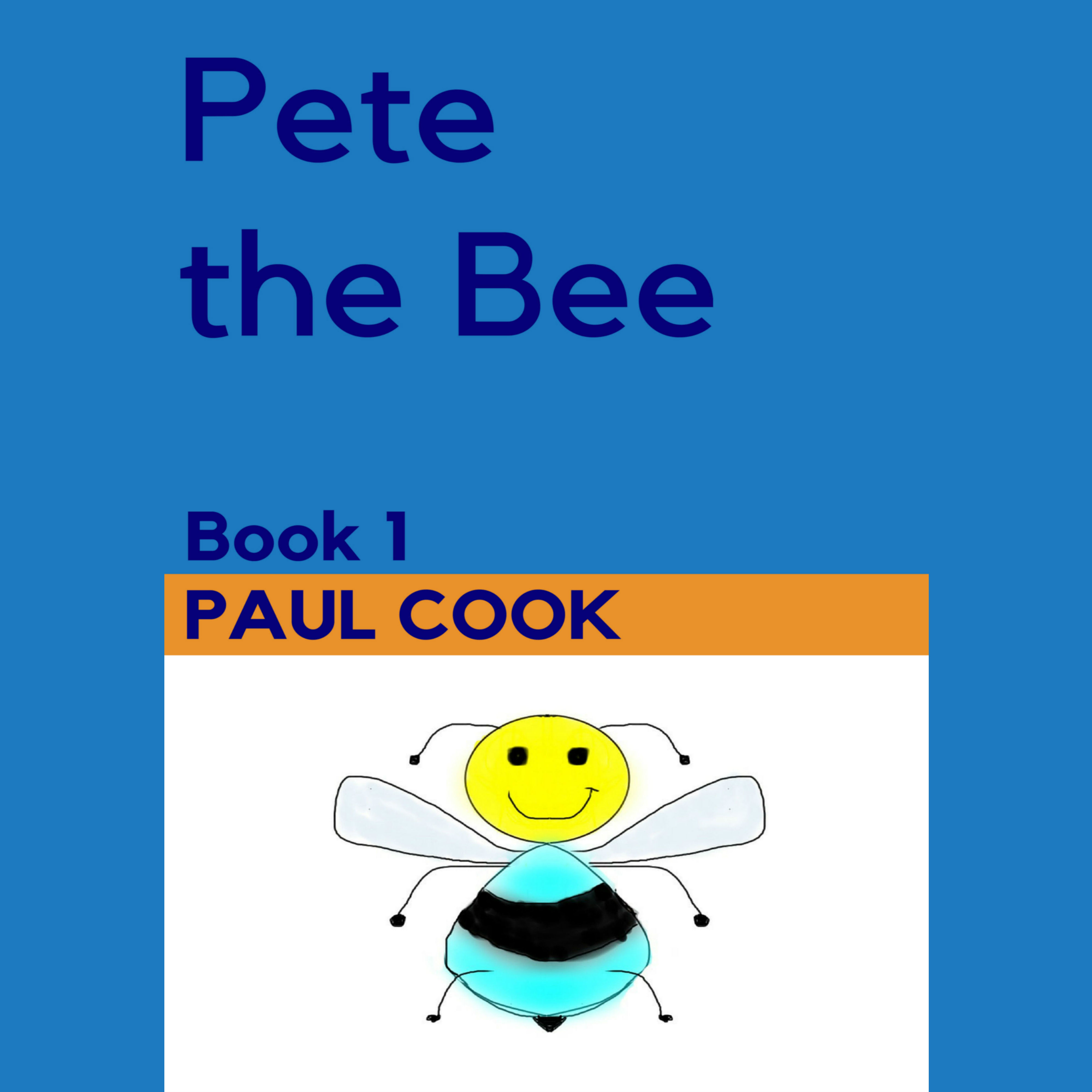 Printable Pete the Bee: Book 1 Audiobook Cover Art
