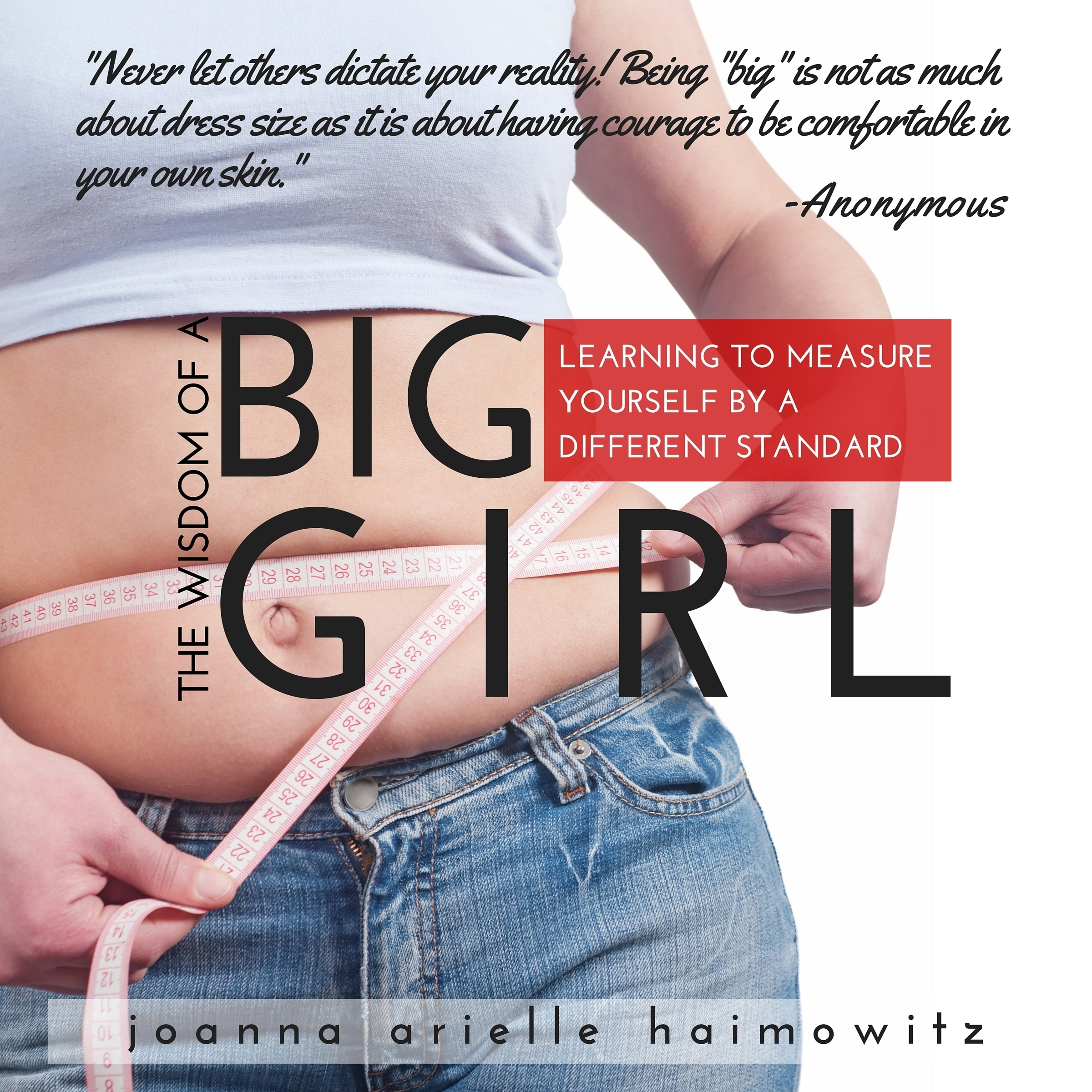 Printable The Wisdom of a Big Girl: Learning to Measure Yourself by a Different Standard Audiobook Cover Art