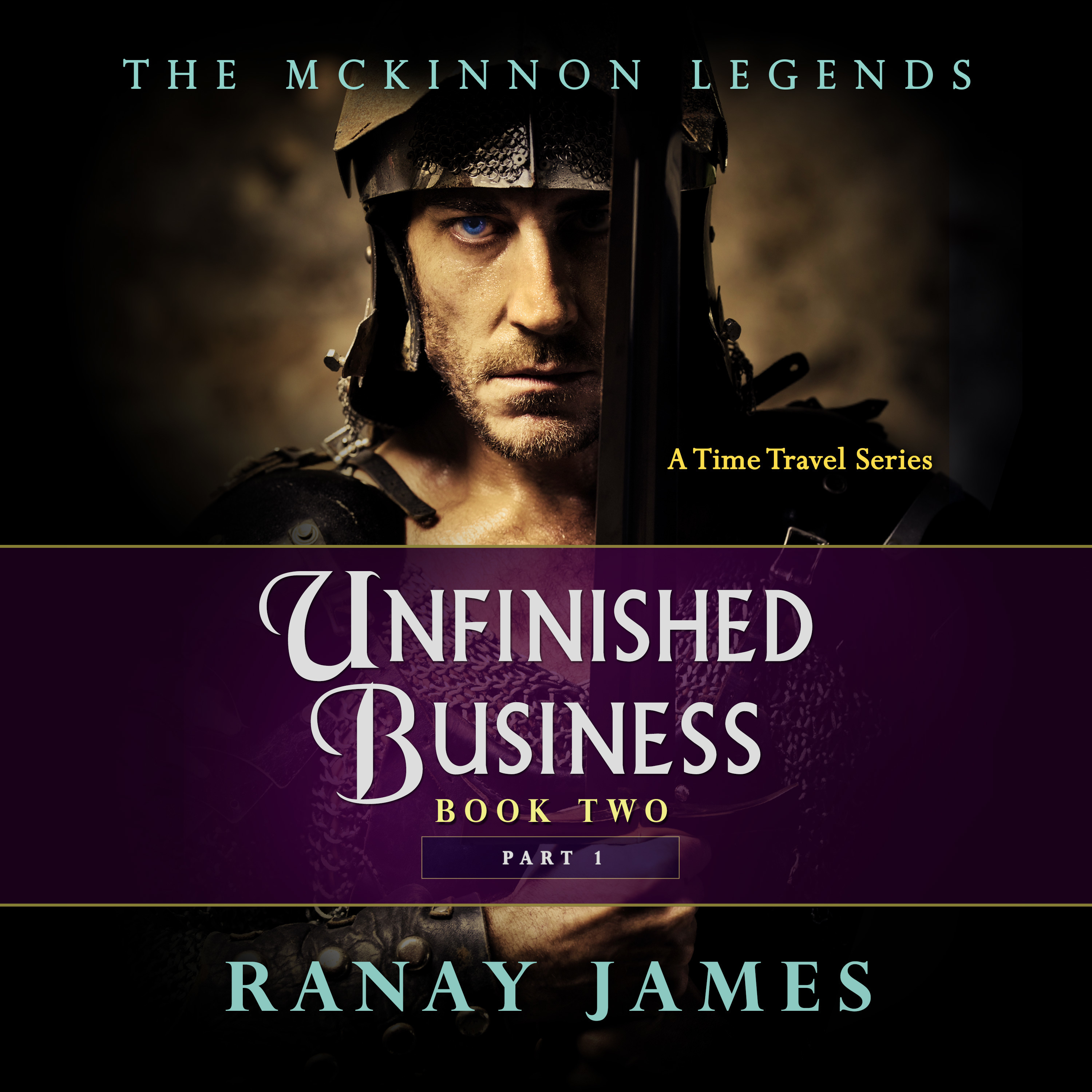 Printable Unfinished Business Audiobook Cover Art