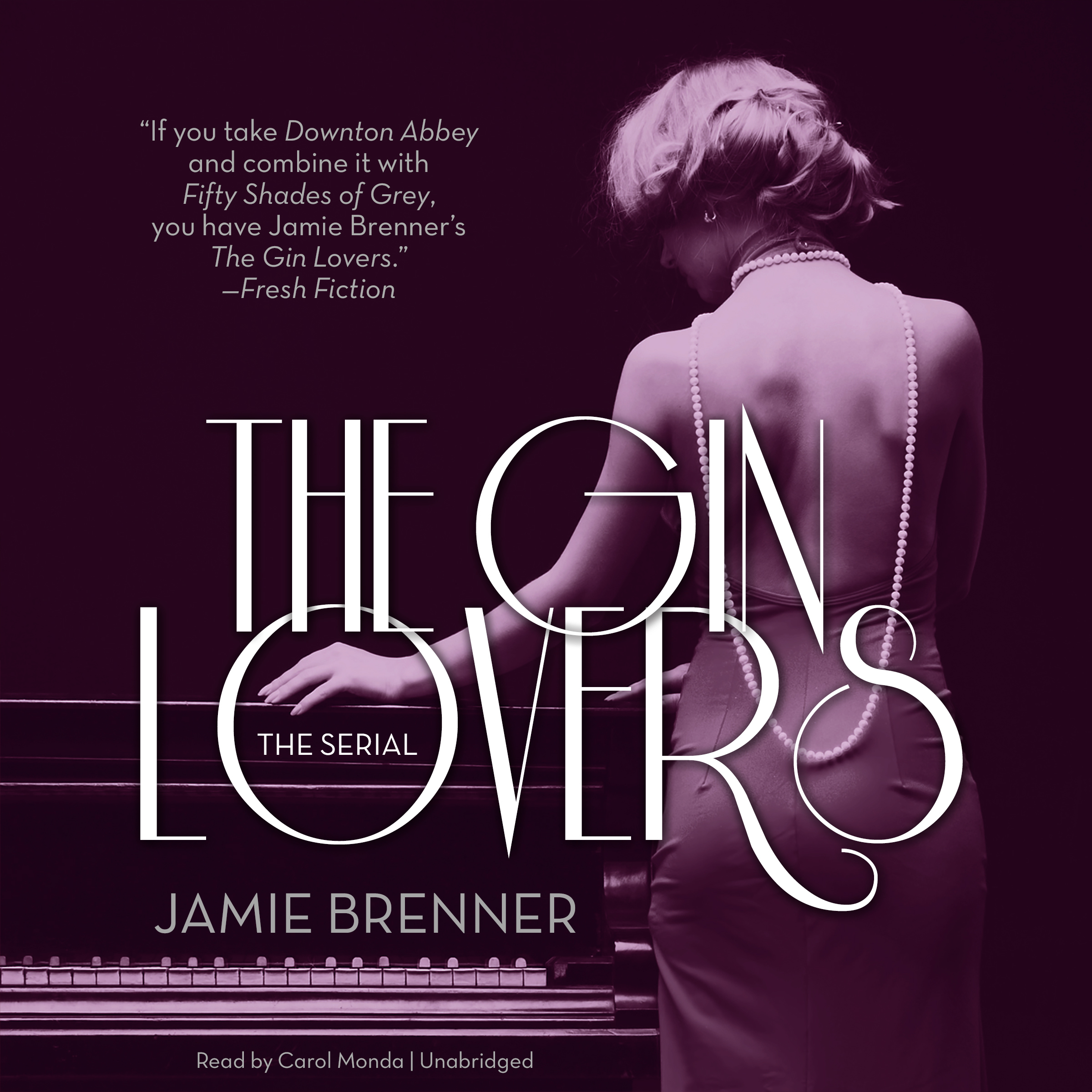 Printable The Gin Lovers: The Serial Audiobook Cover Art
