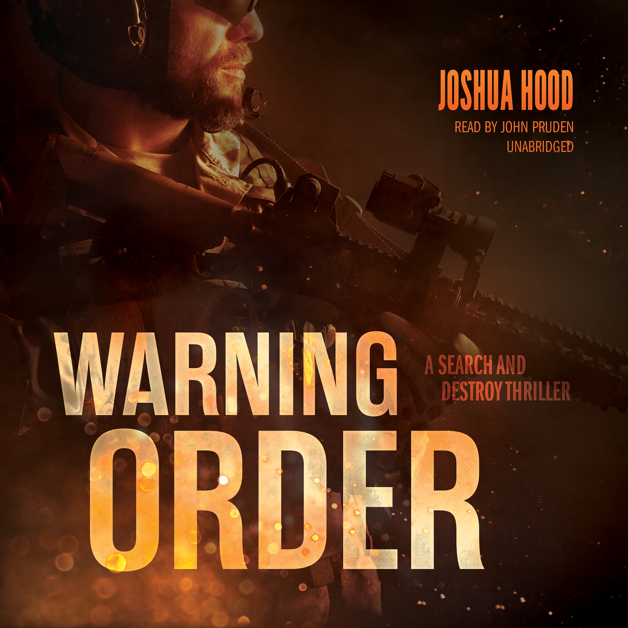 Printable Warning Order: A Search and Destroy Thriller Audiobook Cover Art