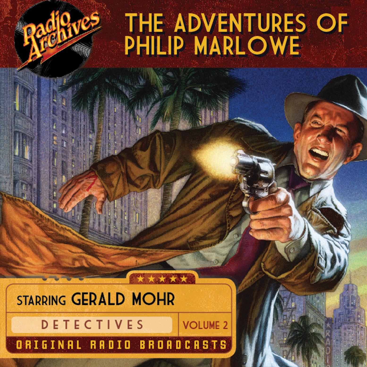 Printable The Adventures of Philip Marlowe, Volume 2 Audiobook Cover Art