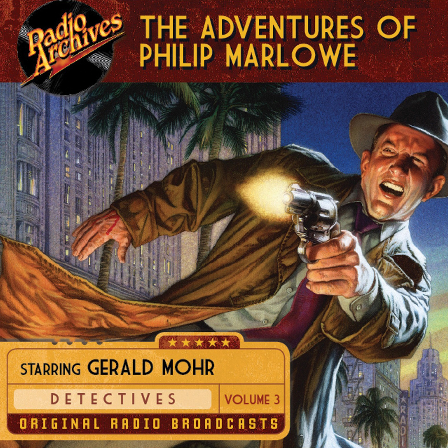 Printable The Adventures of Philip Marlowe,, Volume 3 Audiobook Cover Art