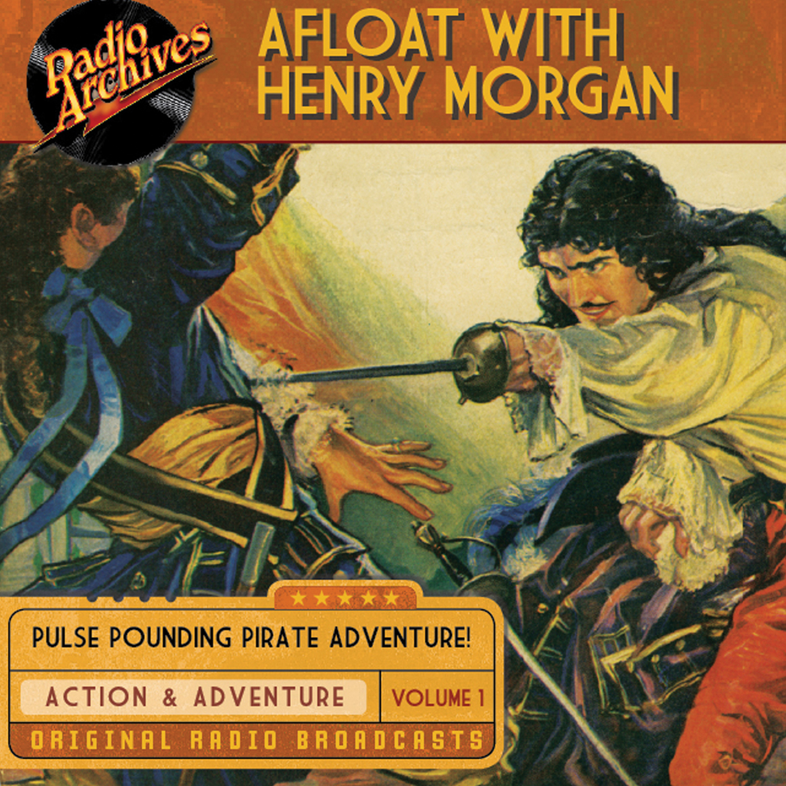 Printable Afloat with Henry Morgan, Volume 1 Audiobook Cover Art