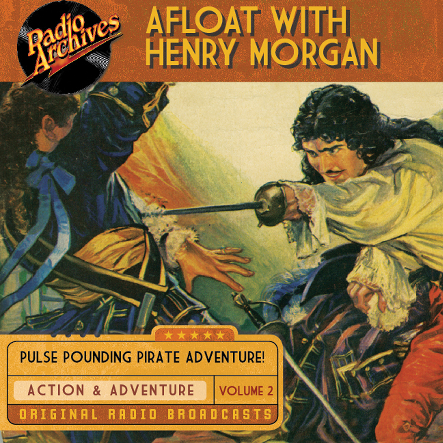 Printable Afloat with Henry Morgan, Volume 2 Audiobook Cover Art