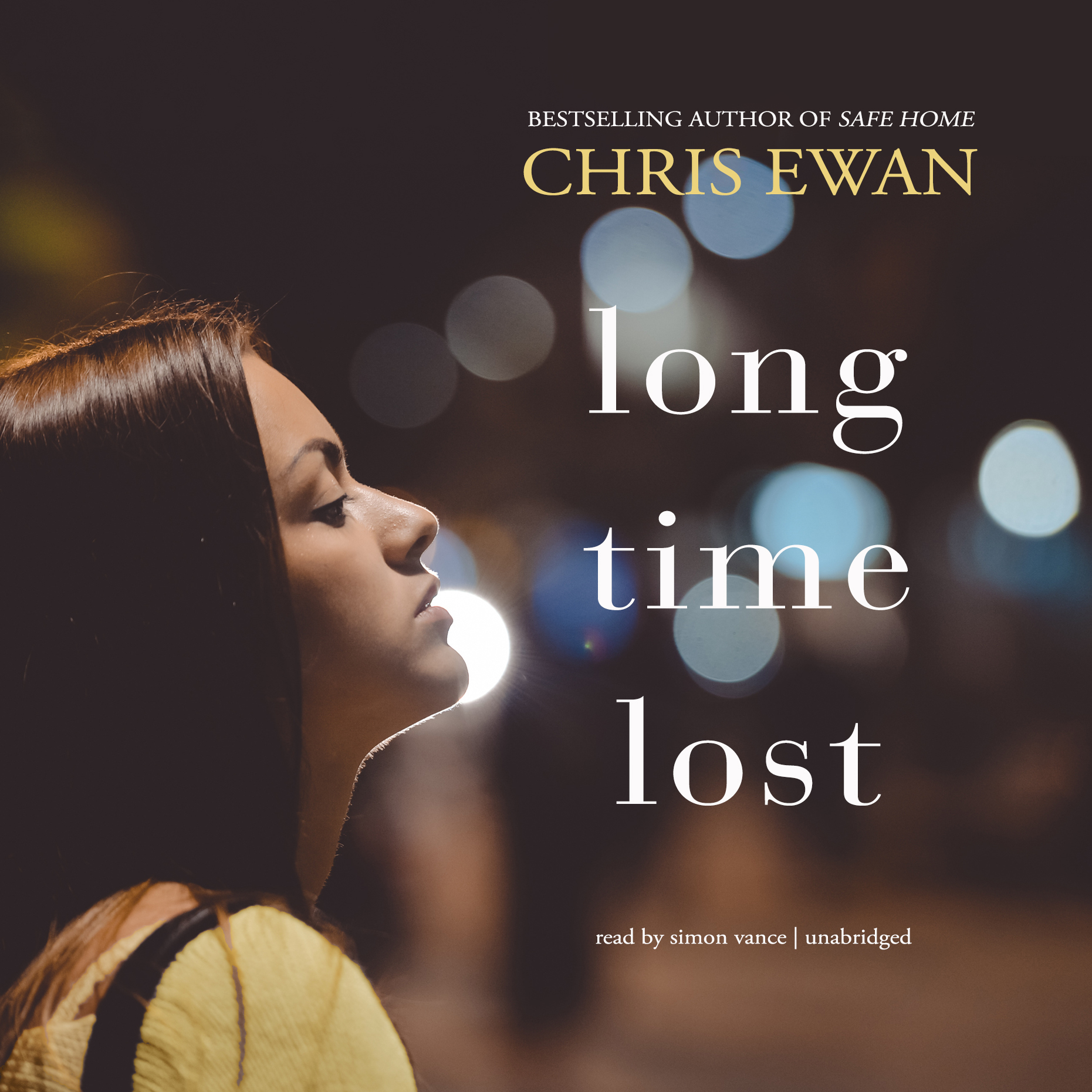 Printable Long Time Lost Audiobook Cover Art