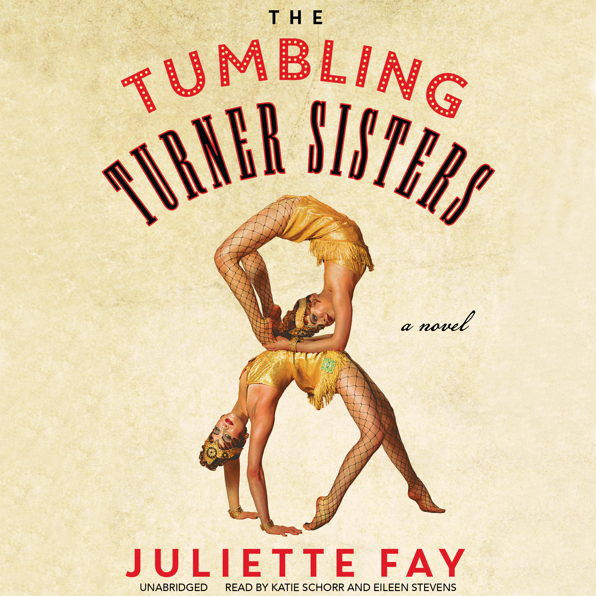 Printable The Tumbling Turner Sisters Audiobook Cover Art