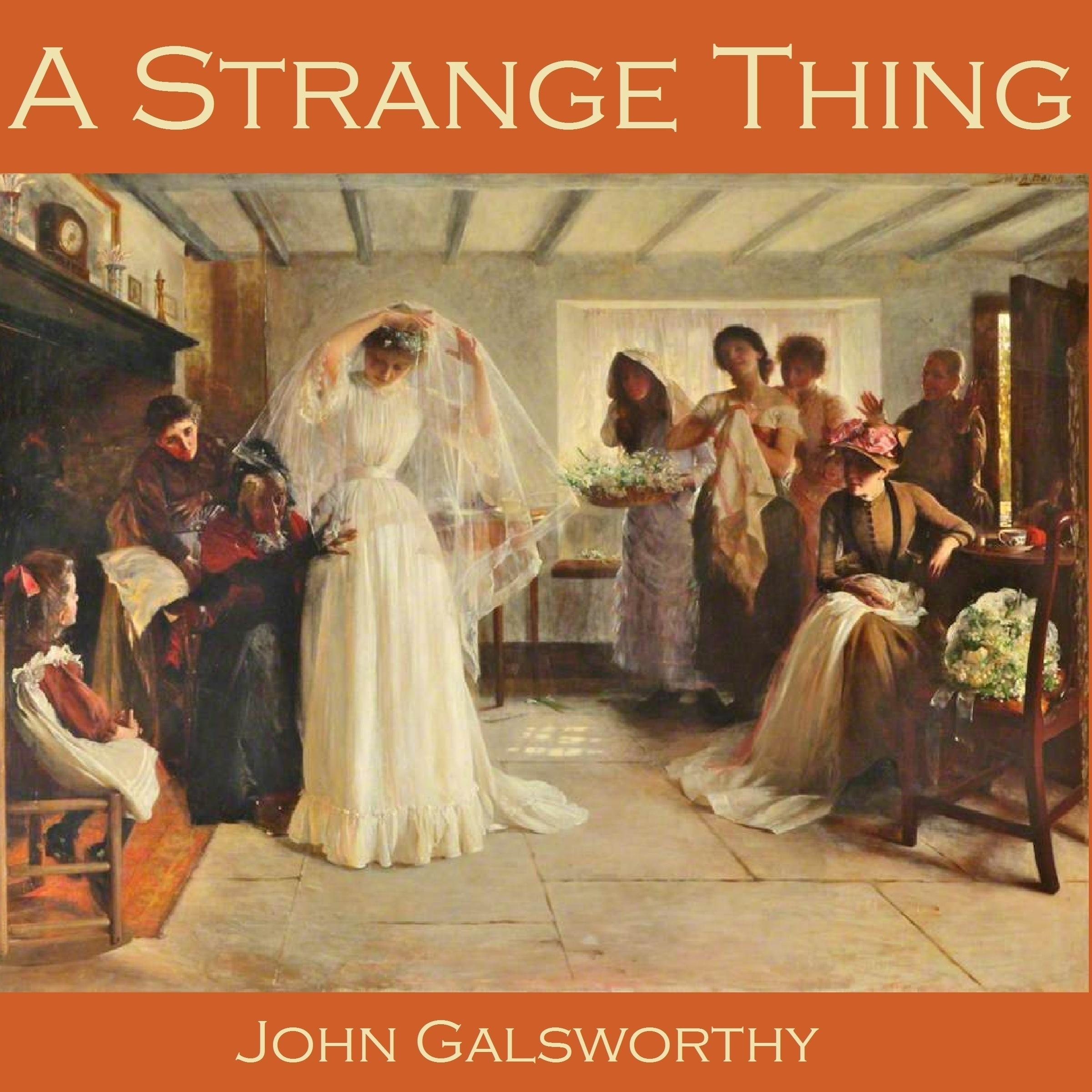 Printable A Strange Thing Audiobook Cover Art