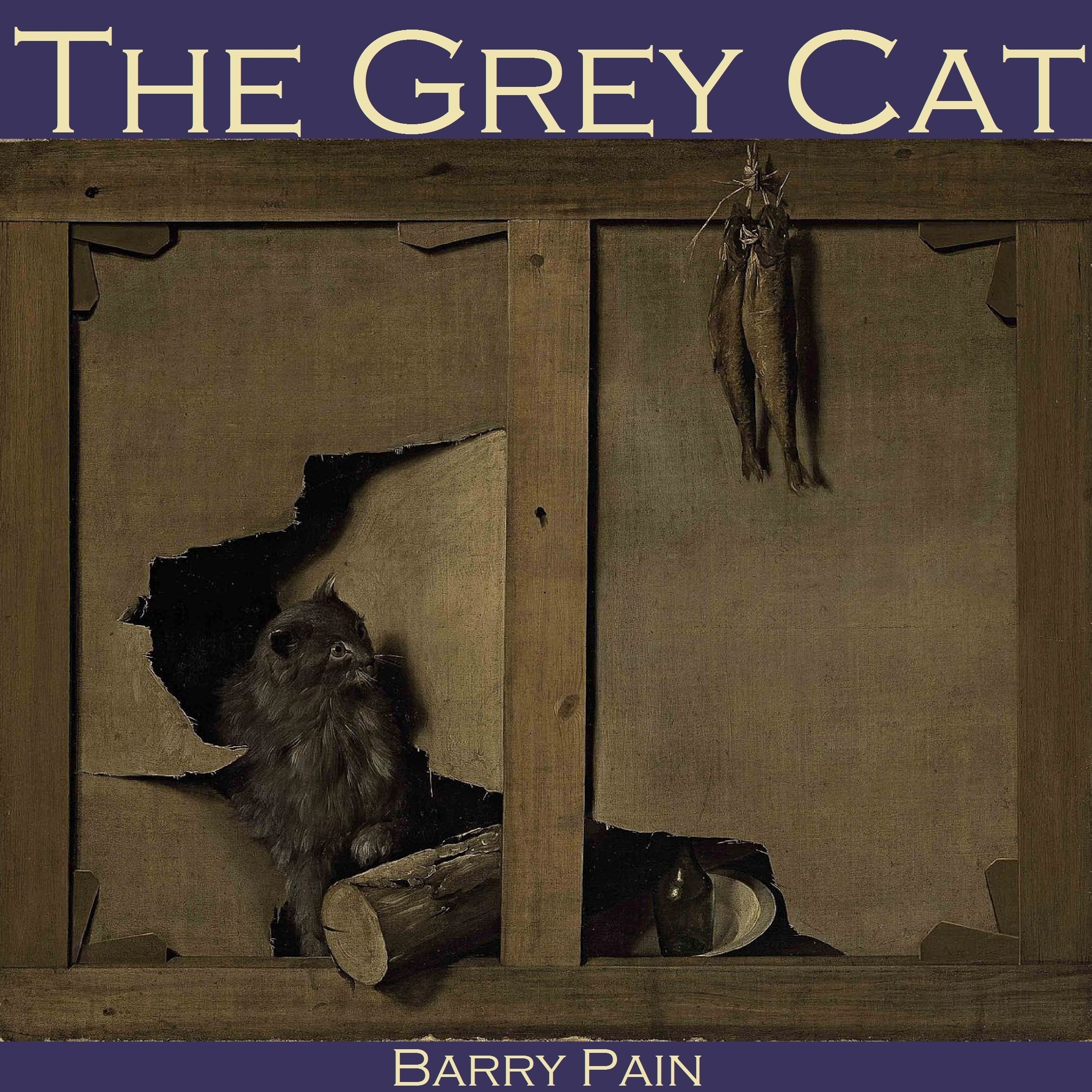 Printable The Grey Cat Audiobook Cover Art