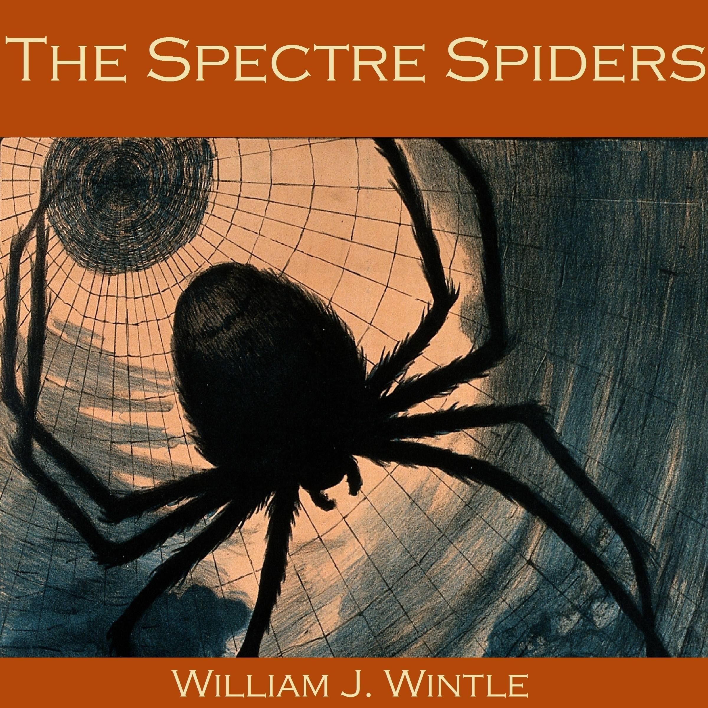 Printable The Spectre Spiders Audiobook Cover Art
