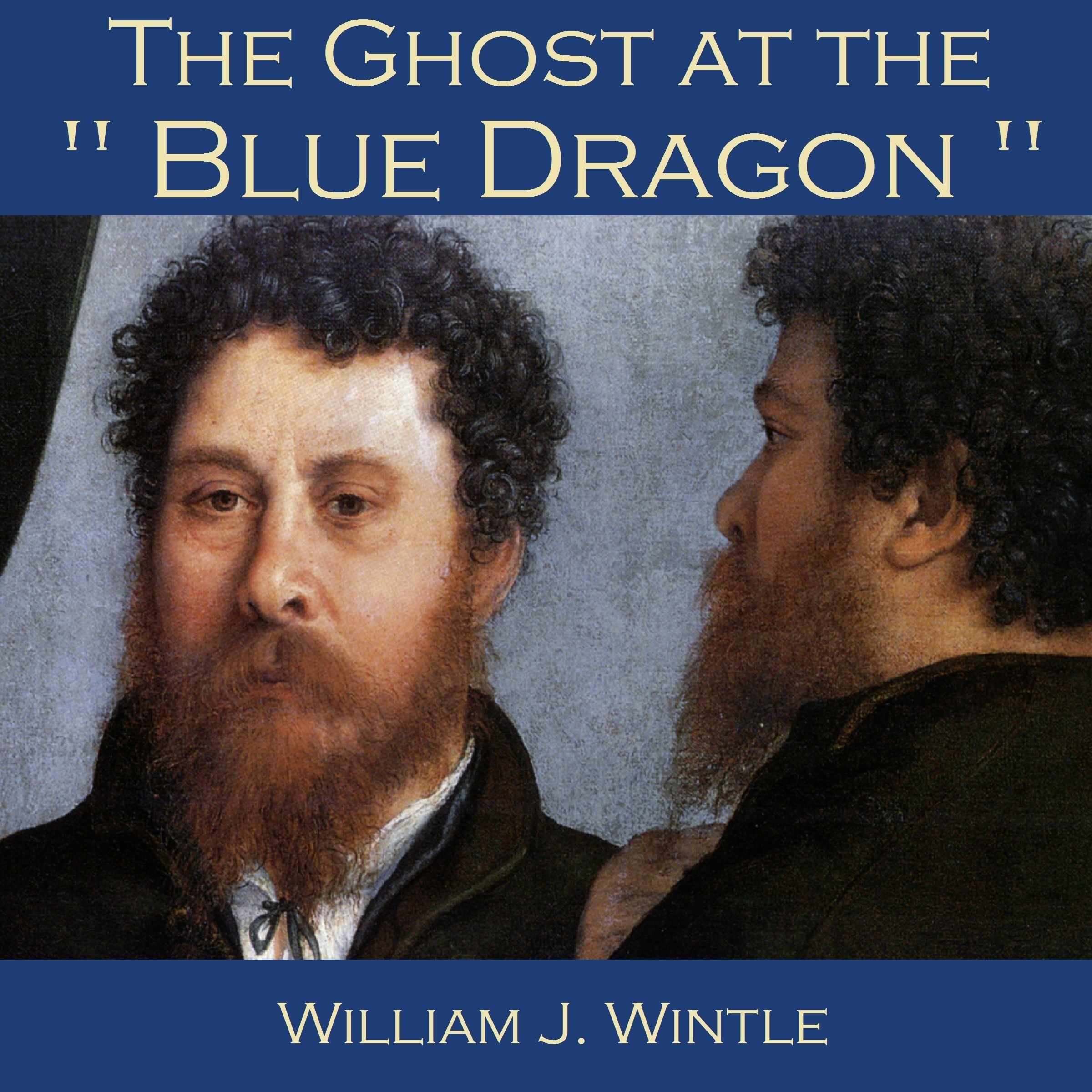 Printable The Ghost at the Blue Dragon Audiobook Cover Art