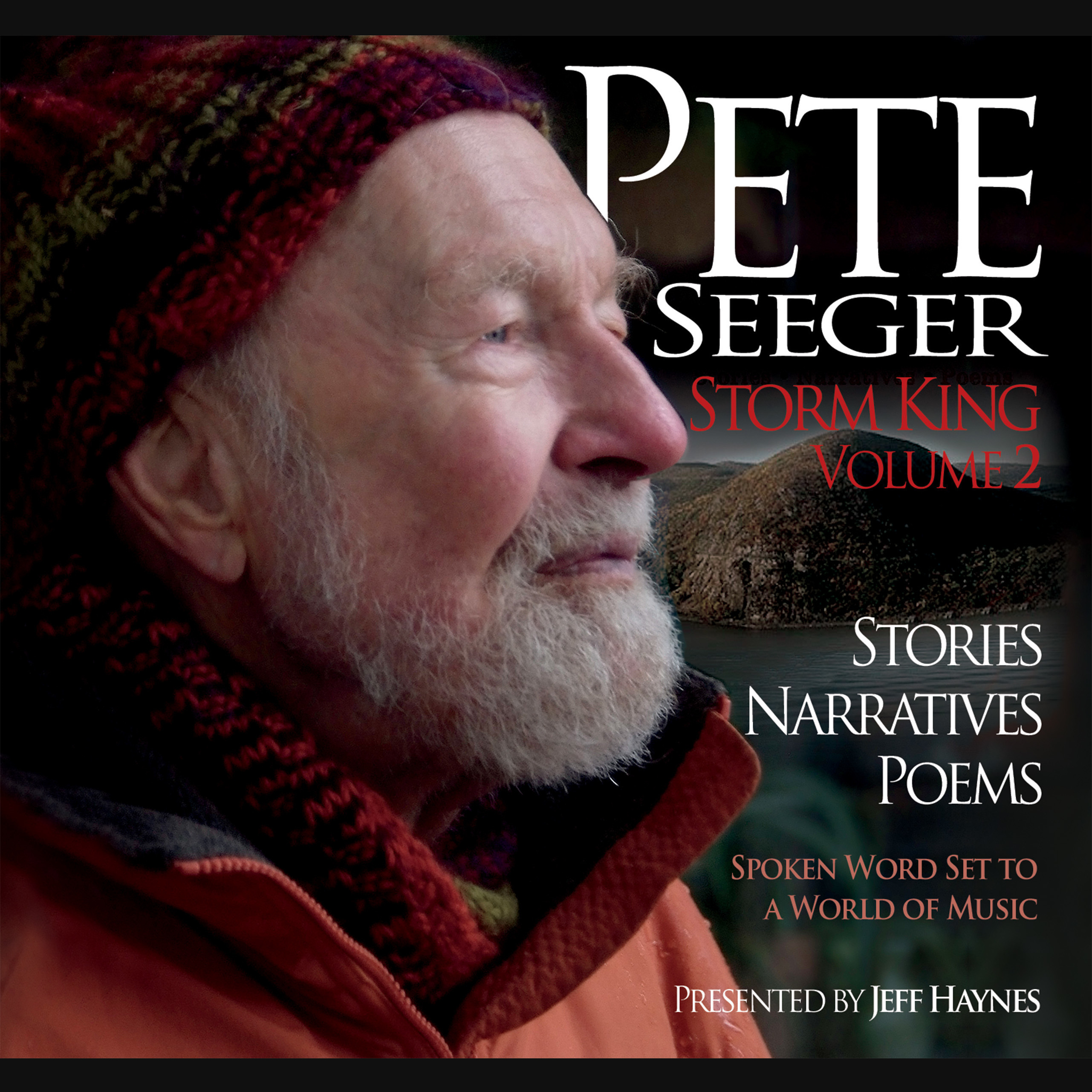 Printable Pete Seeger: Storm King, Volume 2: Stories, Narratives, Poems Audiobook Cover Art
