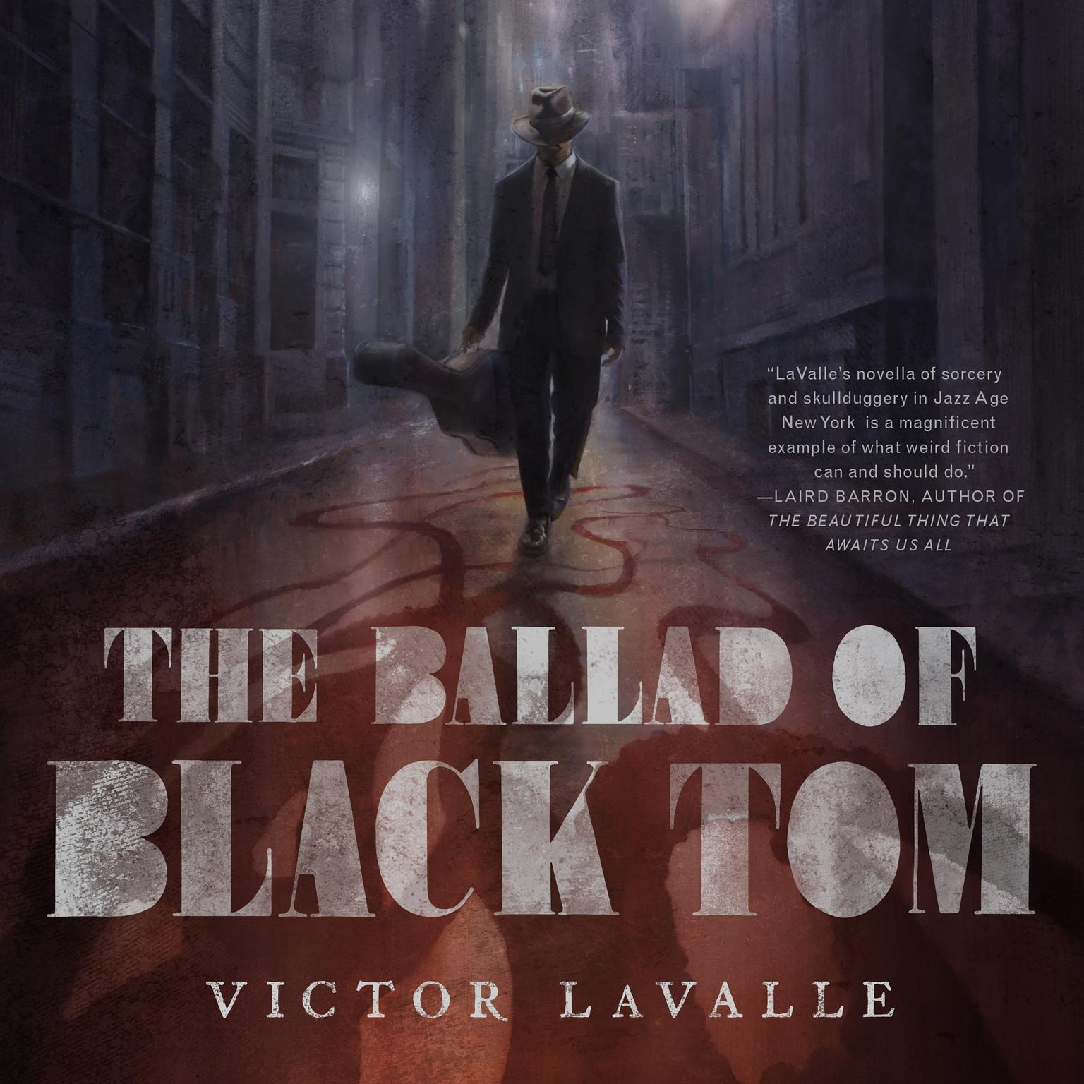 Printable The Ballad of Black Tom Audiobook Cover Art