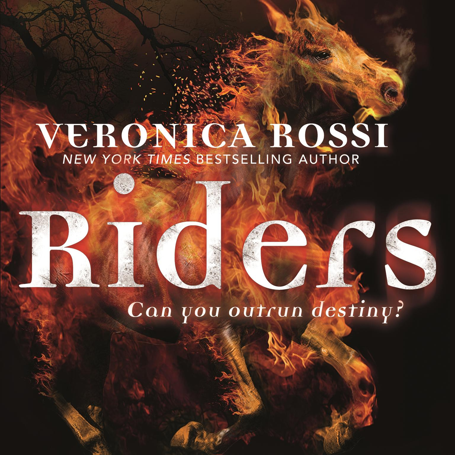 Printable Riders Audiobook Cover Art