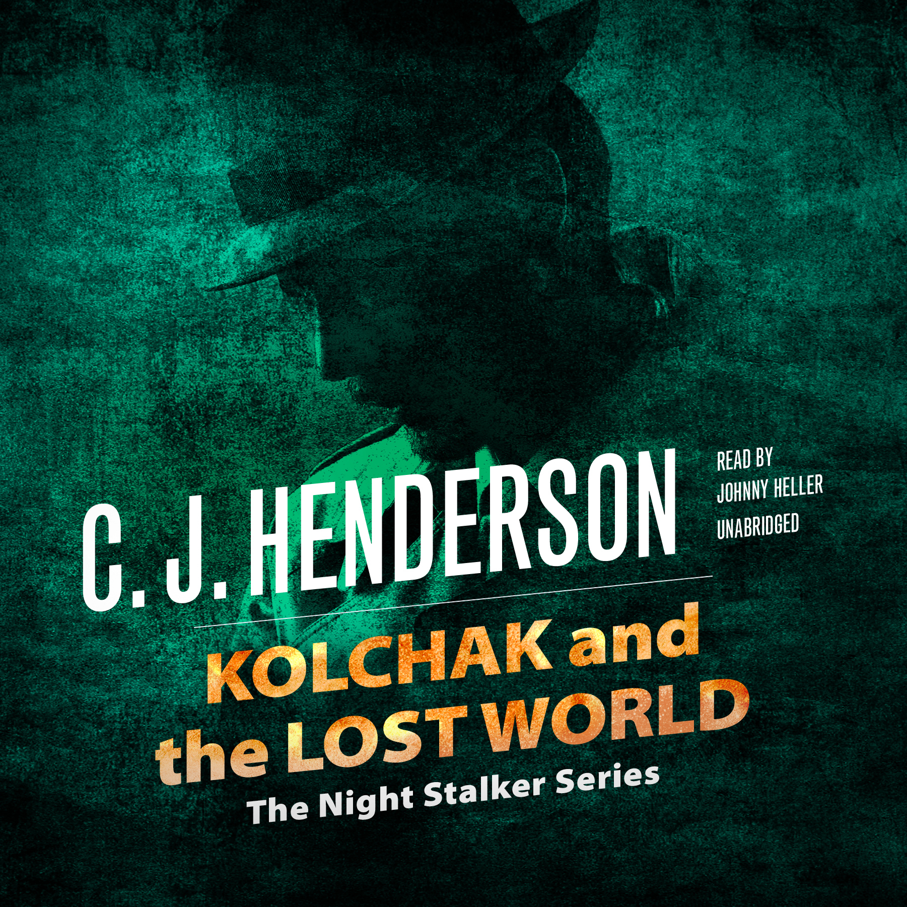 Printable Kolchak and the Lost World Audiobook Cover Art