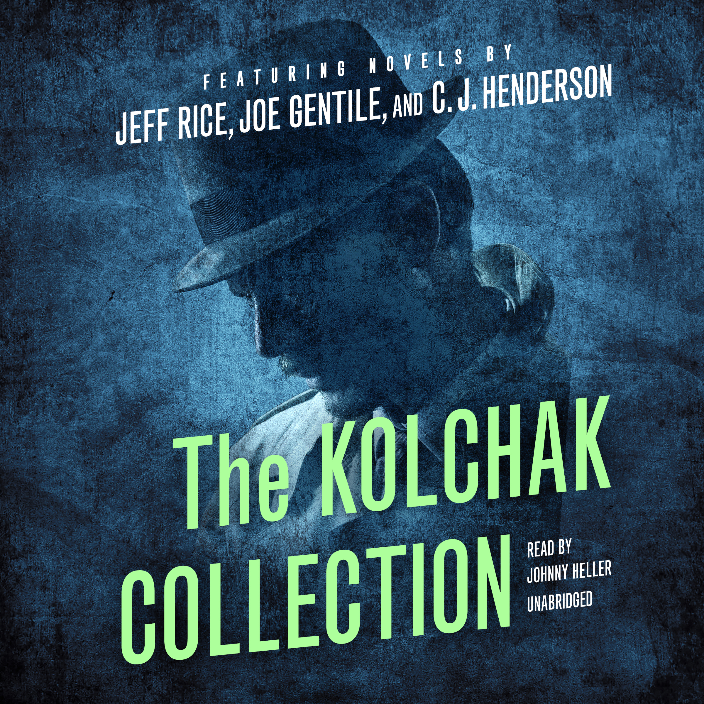 Printable The Kolchak Collection Audiobook Cover Art
