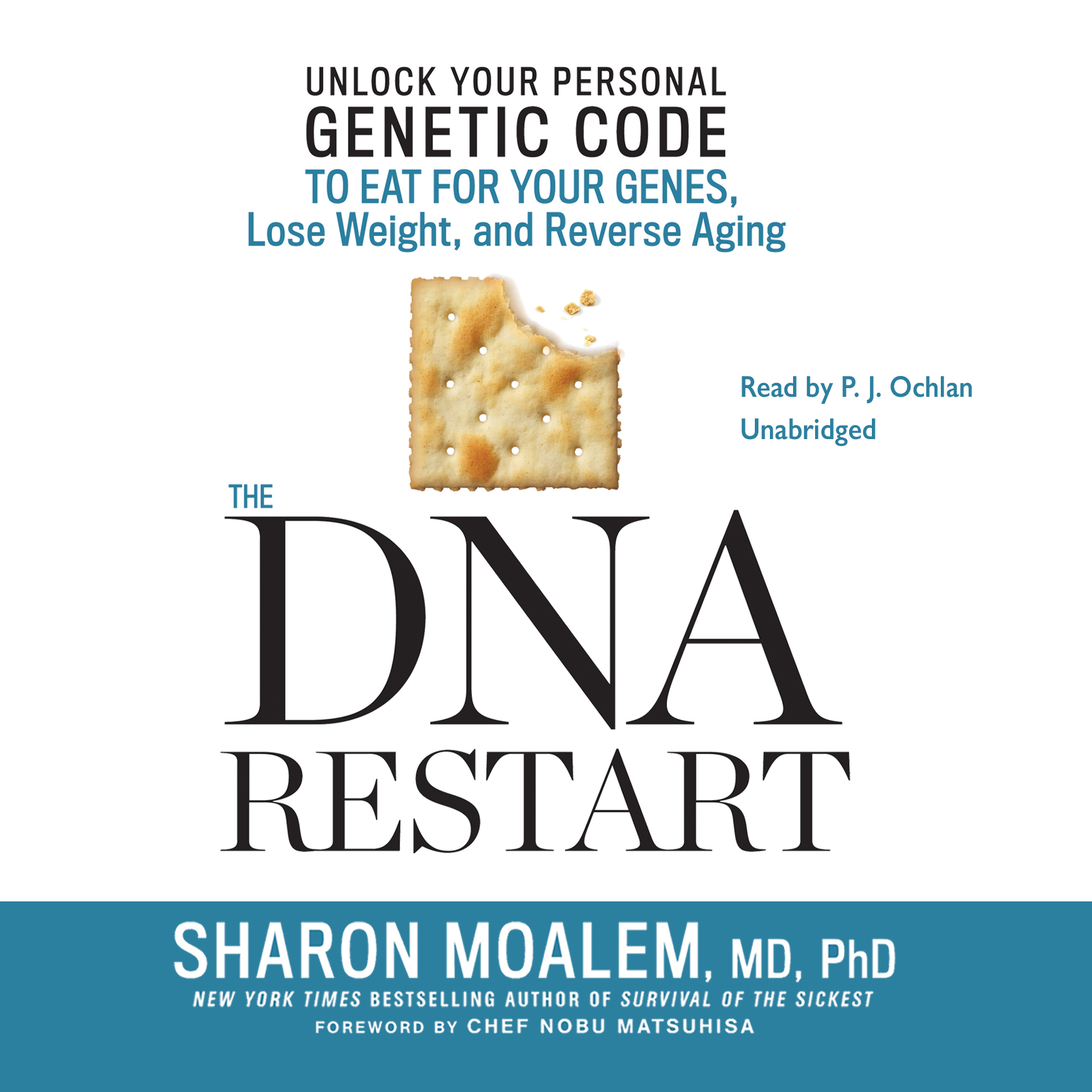 Printable The DNA Restart: Unlock Your Personal Genetic Code to Eat for Your Genes, Lose Weight, and Reverse Aging Audiobook Cover Art