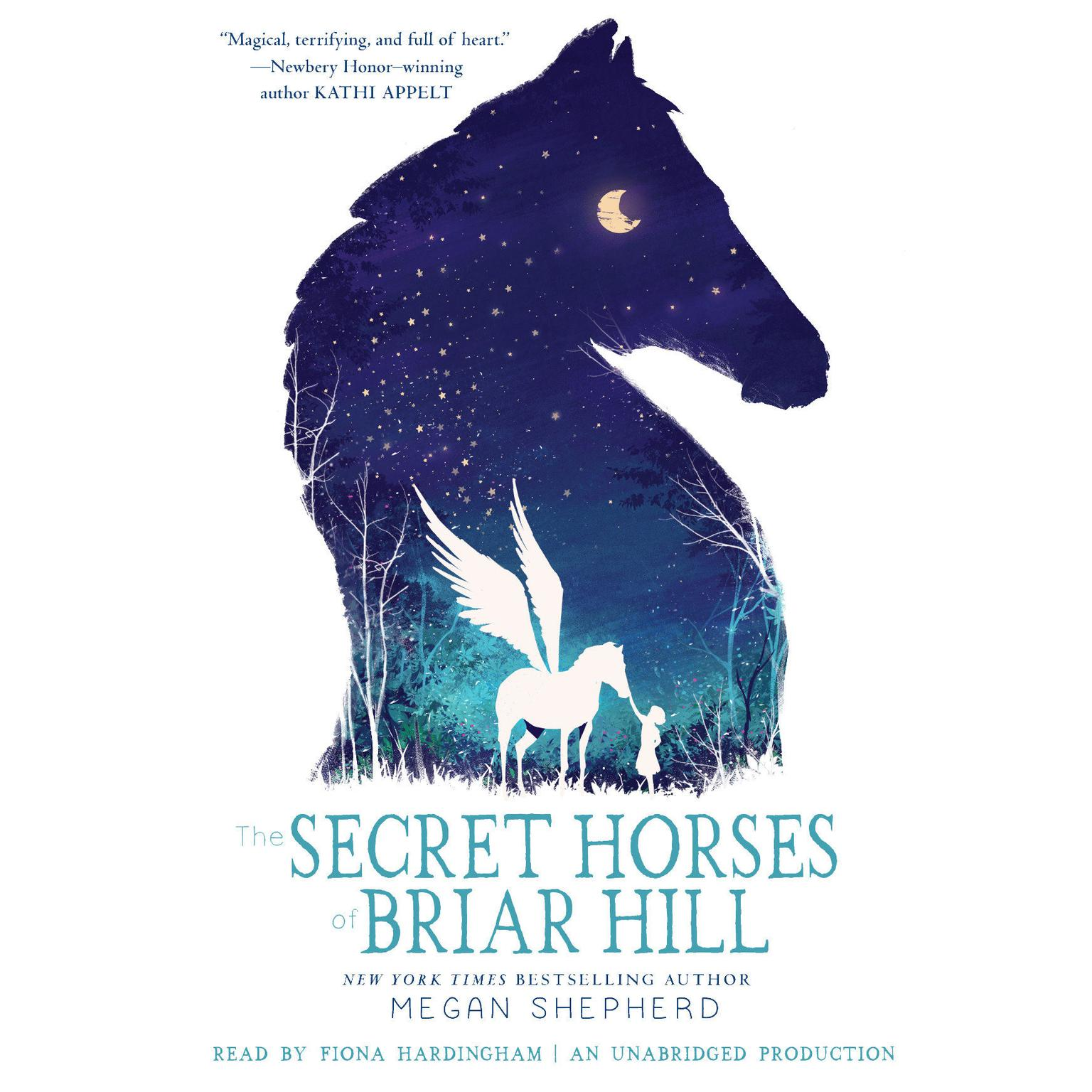 Printable The Secret Horses of Briar Hill Audiobook Cover Art