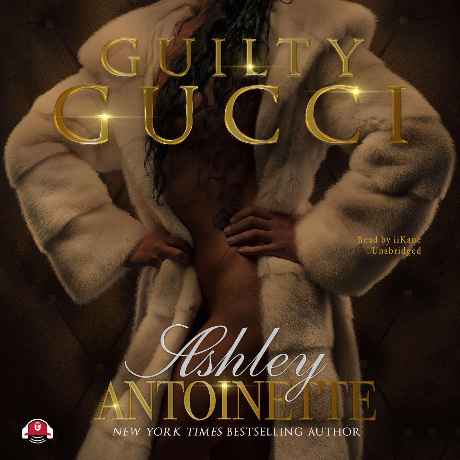 Printable Guilty Gucci Audiobook Cover Art