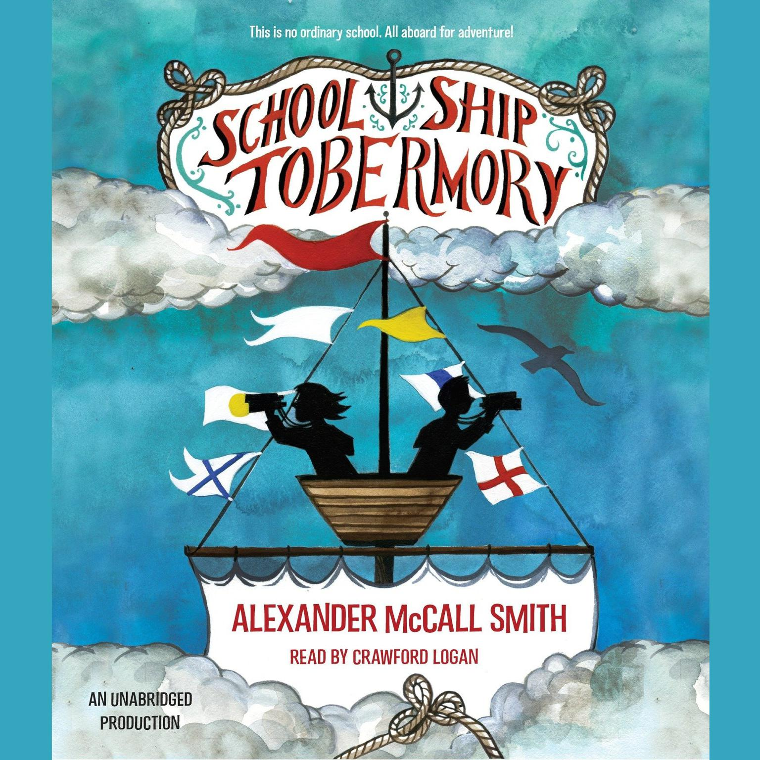 Printable School Ship Tobermory Audiobook Cover Art