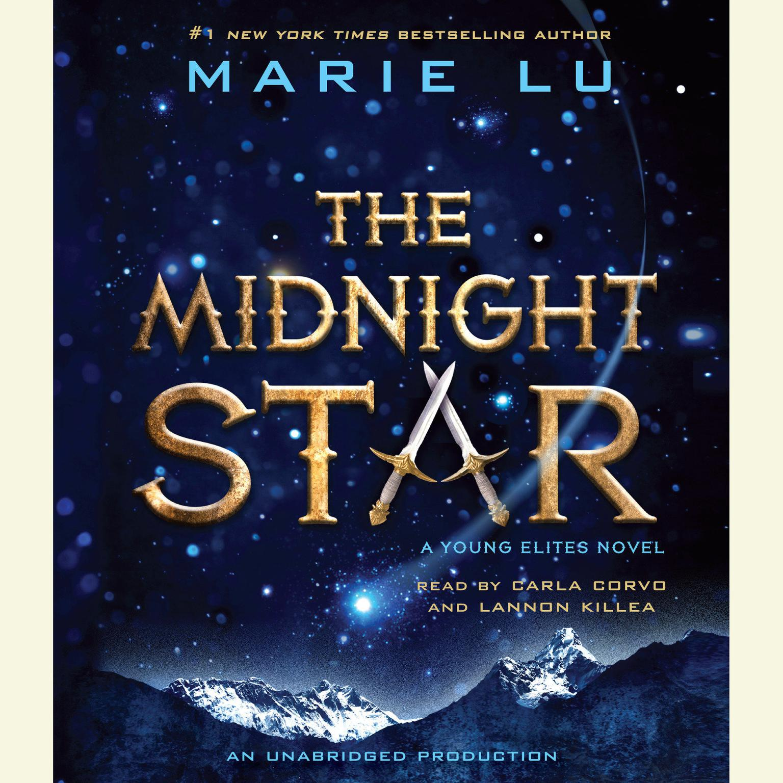 Printable The Midnight Star Audiobook Cover Art
