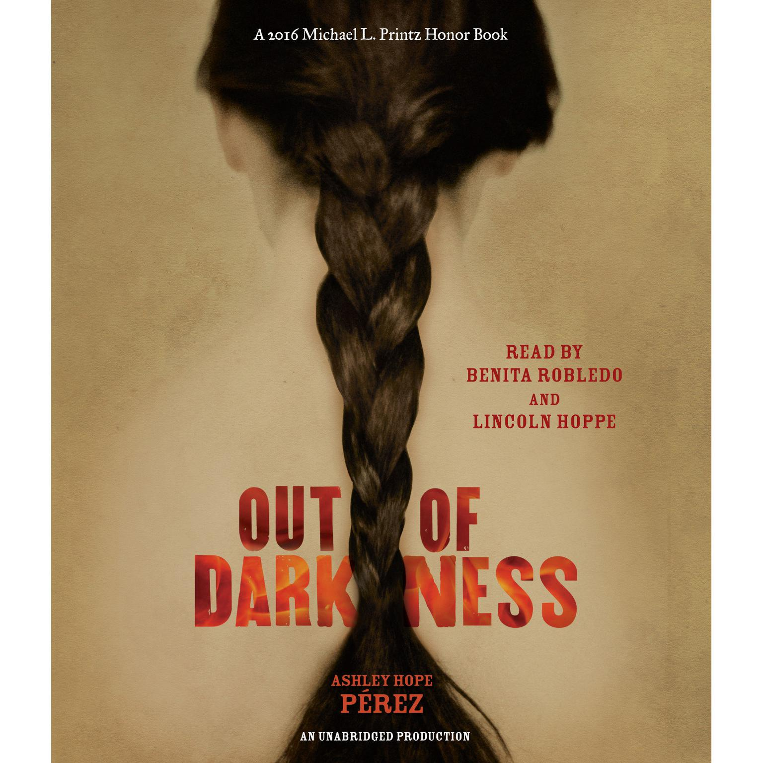 Printable Out of Darkness Audiobook Cover Art