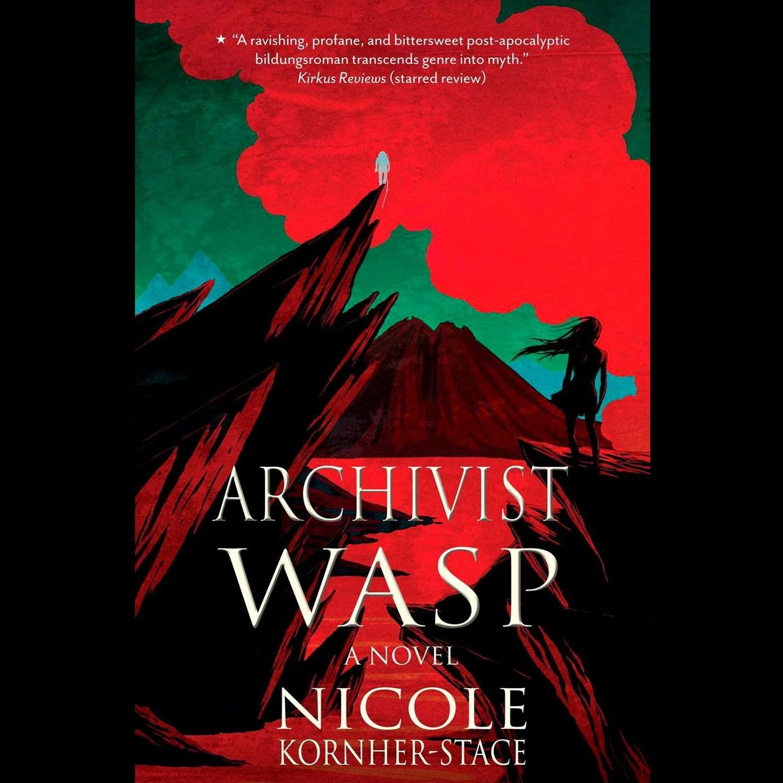 Printable Archivist Wasp: A Novel Audiobook Cover Art