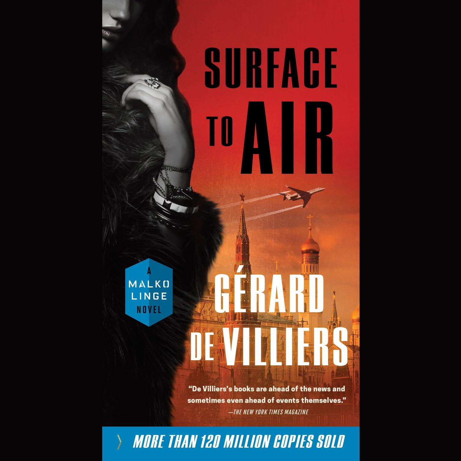 Printable Surface to Air: A Malko Linge Novel Audiobook Cover Art
