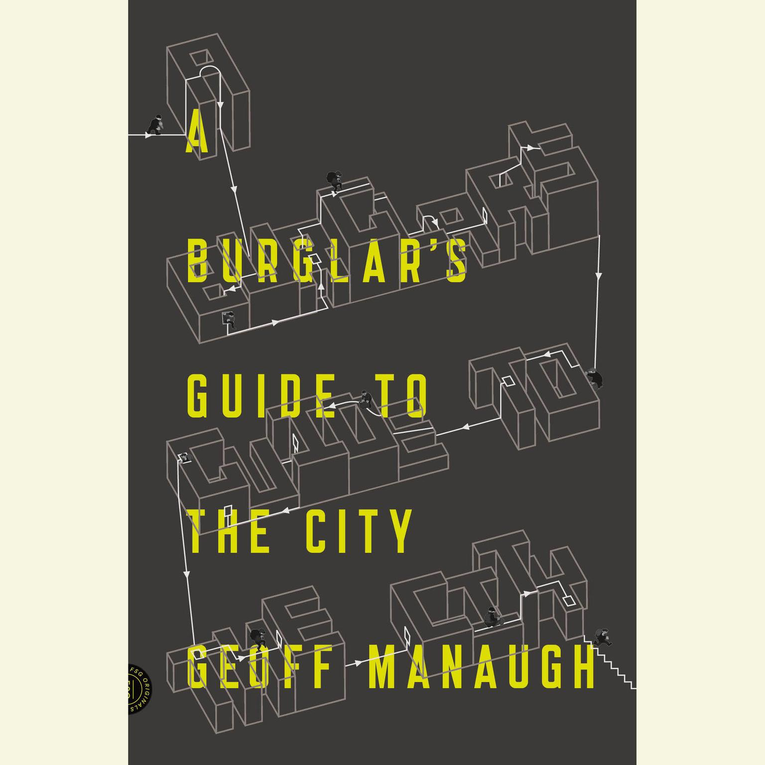 Printable A Burglar's Guide to the City Audiobook Cover Art