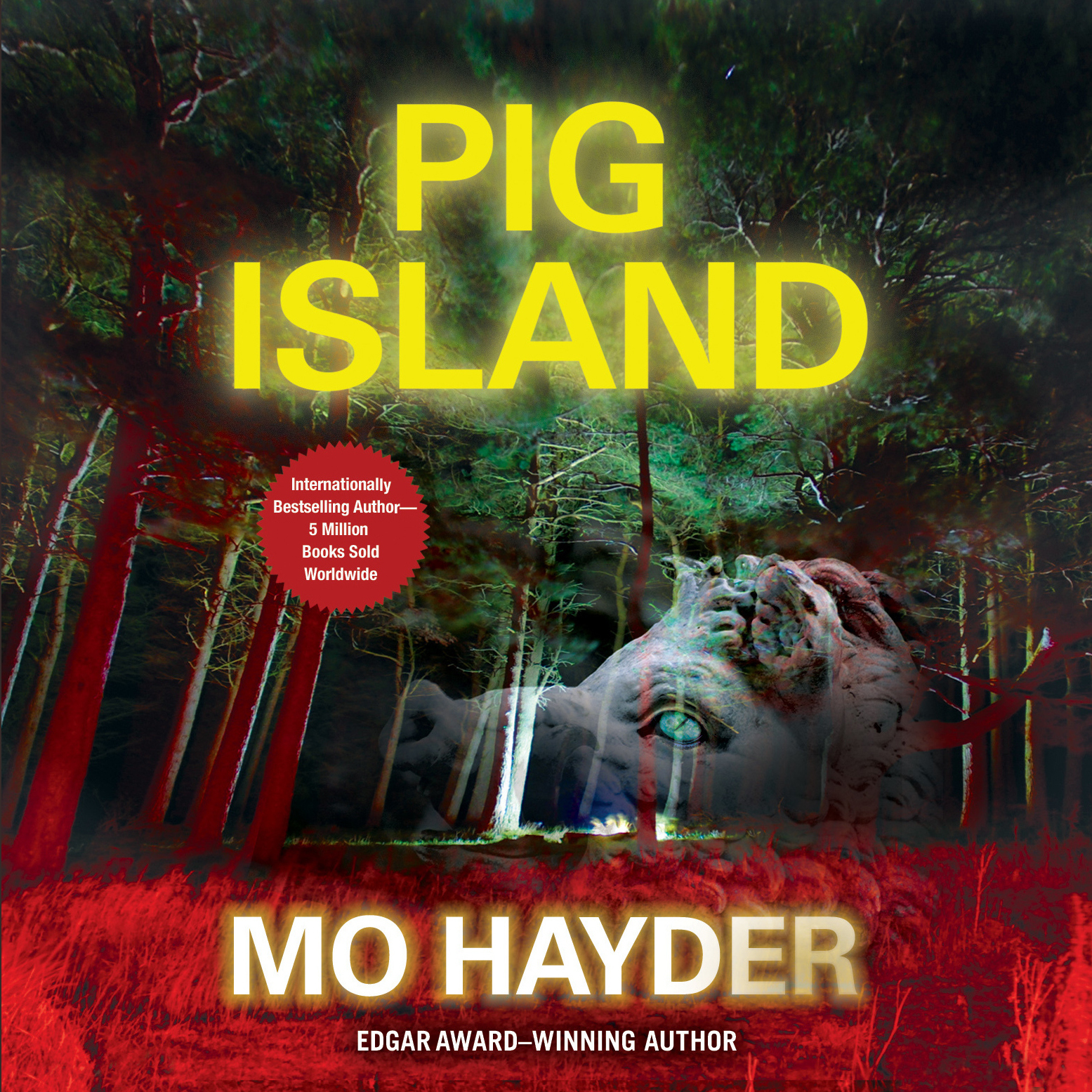 Printable Pig Island Audiobook Cover Art
