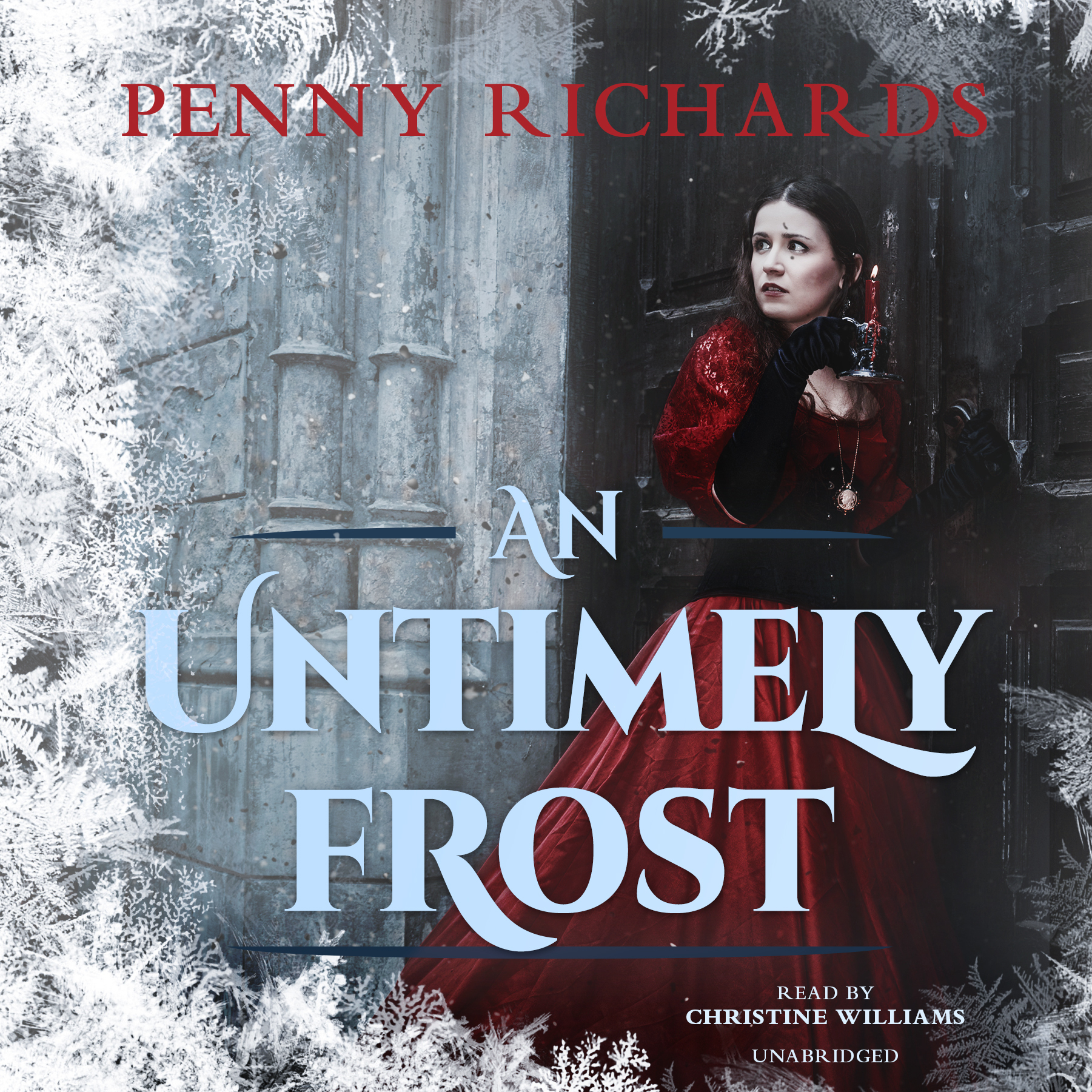Printable An Untimely Frost Audiobook Cover Art