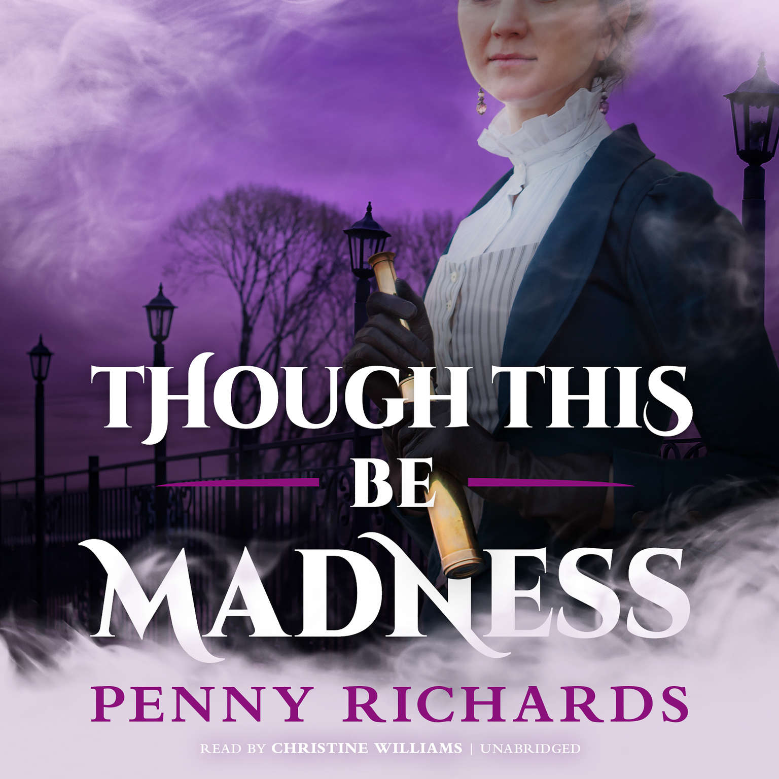 Printable Though This Be Madness Audiobook Cover Art