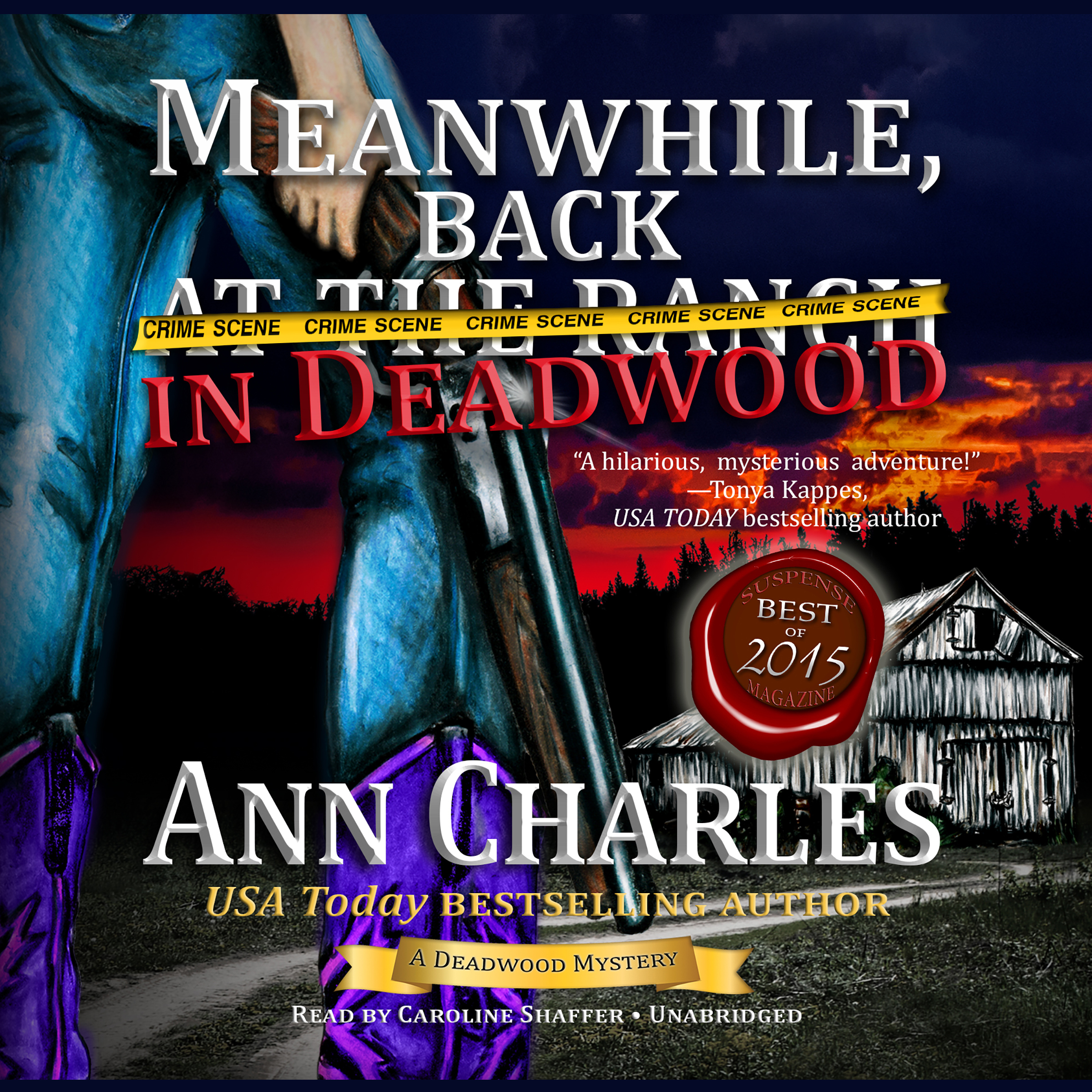 Printable Meanwhile, Back in Deadwood Audiobook Cover Art