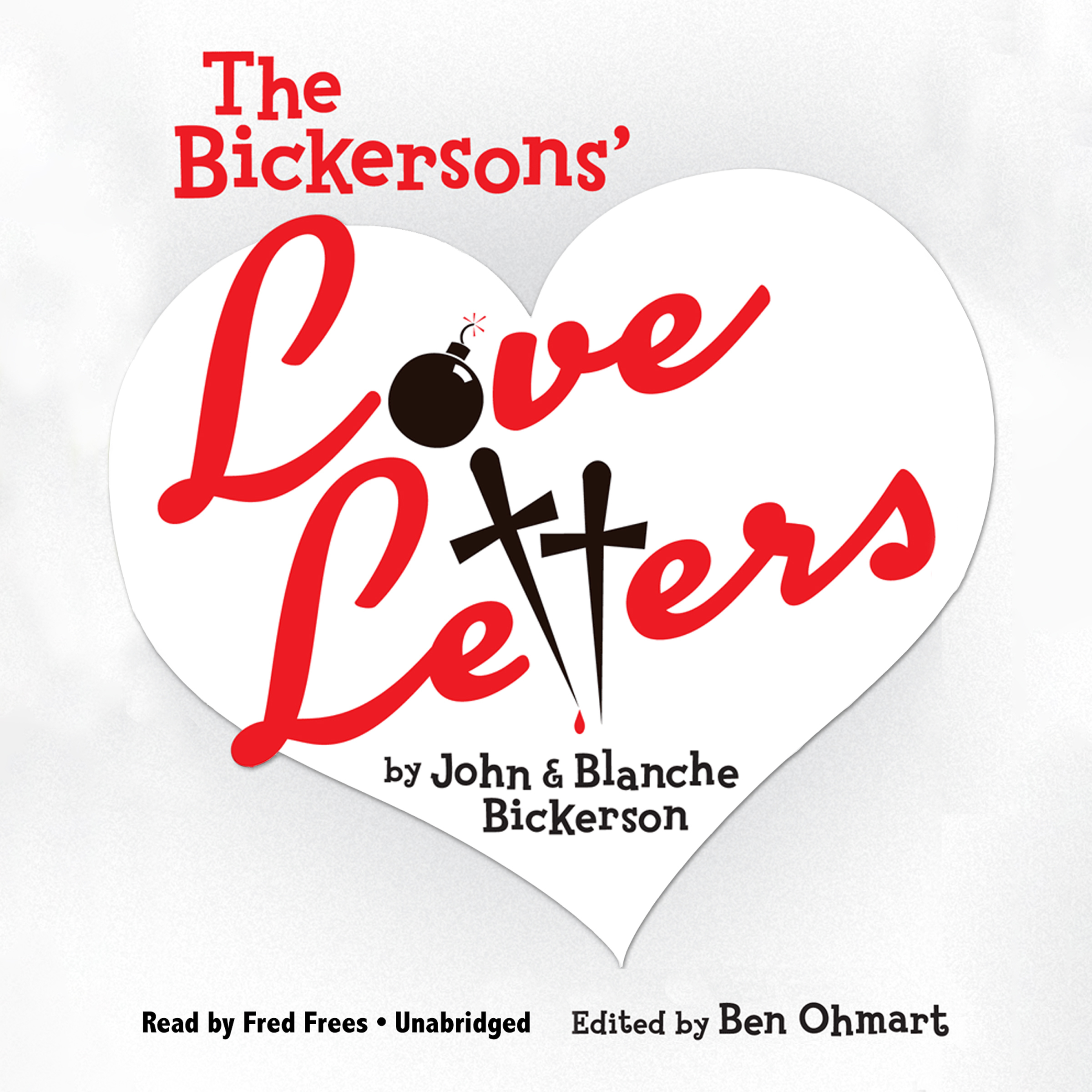 Printable The Bickersons' Love Letters Audiobook Cover Art