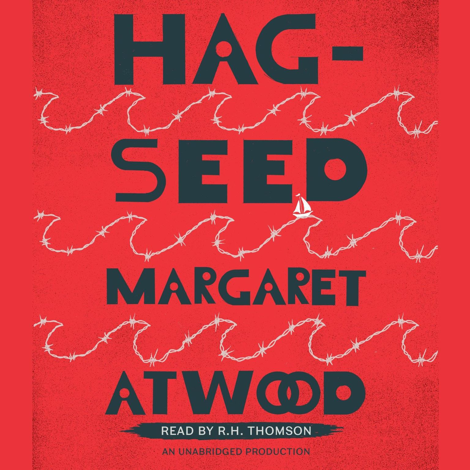 Printable Hag-Seed Audiobook Cover Art